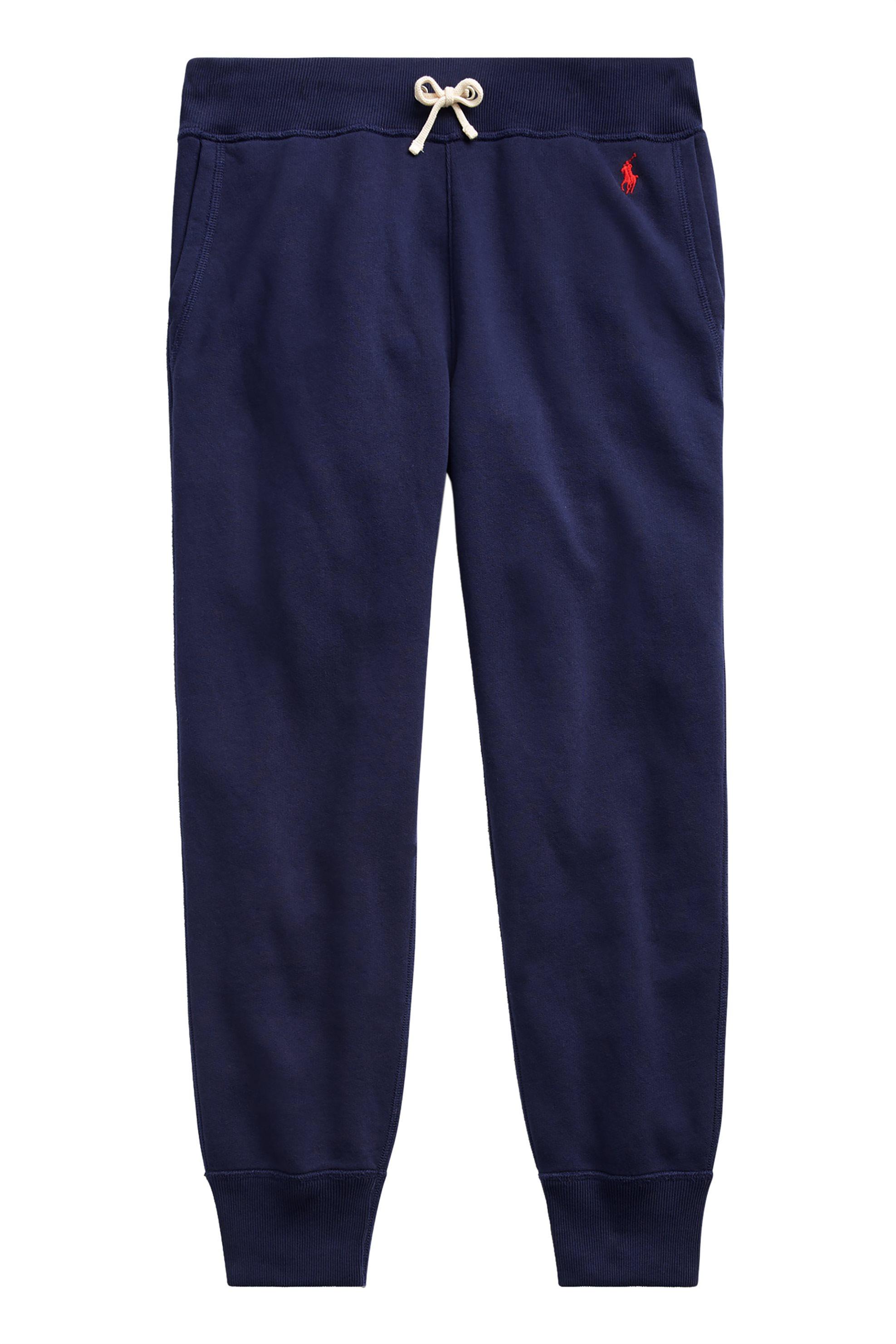 Polo Ralph Lauren γυναικεία βαμβακερή φόρμα - 211704858010 - Μπλε γυναικα   ρουχα   αθλητικα   αθλητικά ρούχα   παντελόνια   παντελόνια φόρμας   ί