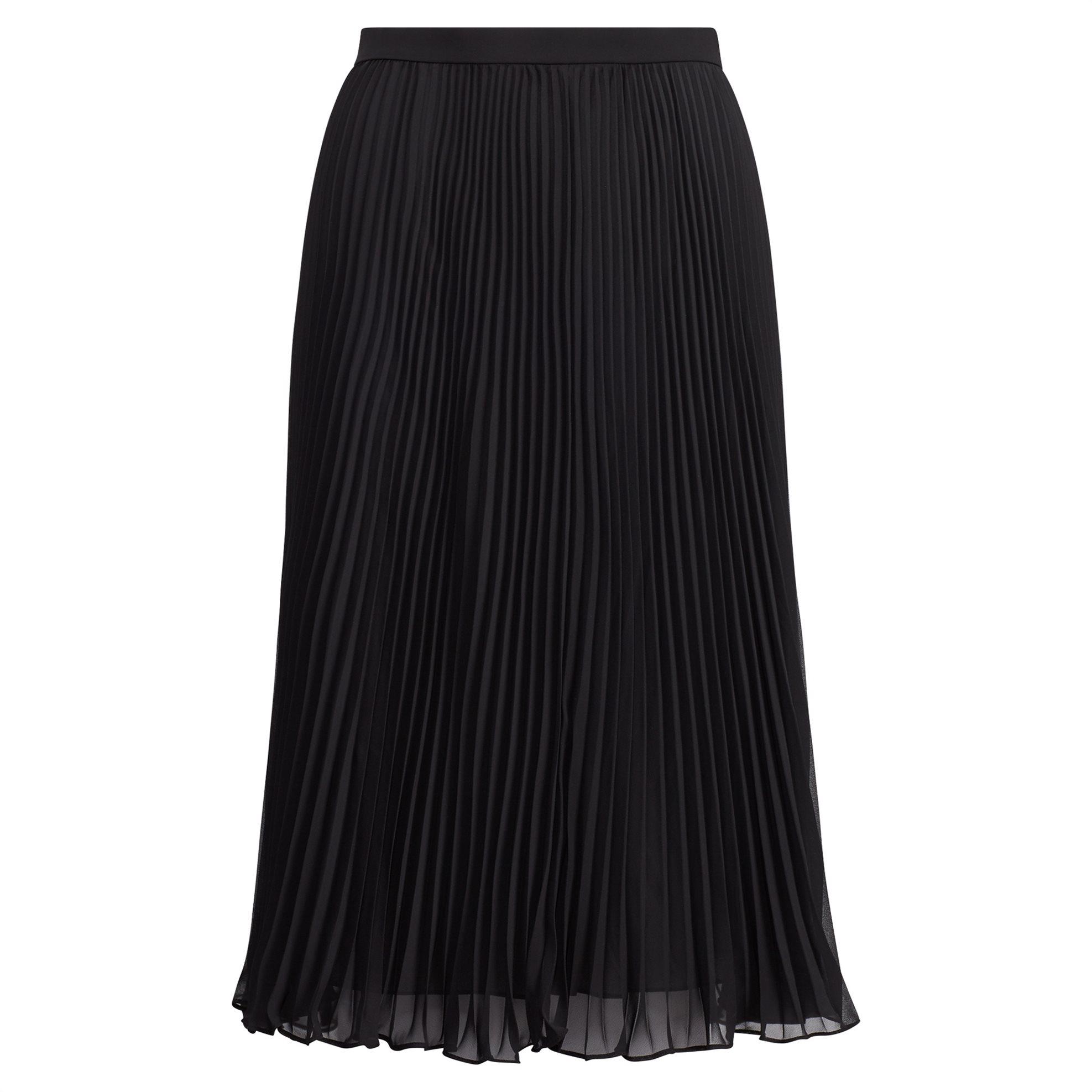 Polo Ralph Lauren γυναικεία φούστα πλισέ Pleated Georgette Skirt - 211705210001  γυναικα   ρουχα   φούστες   midi