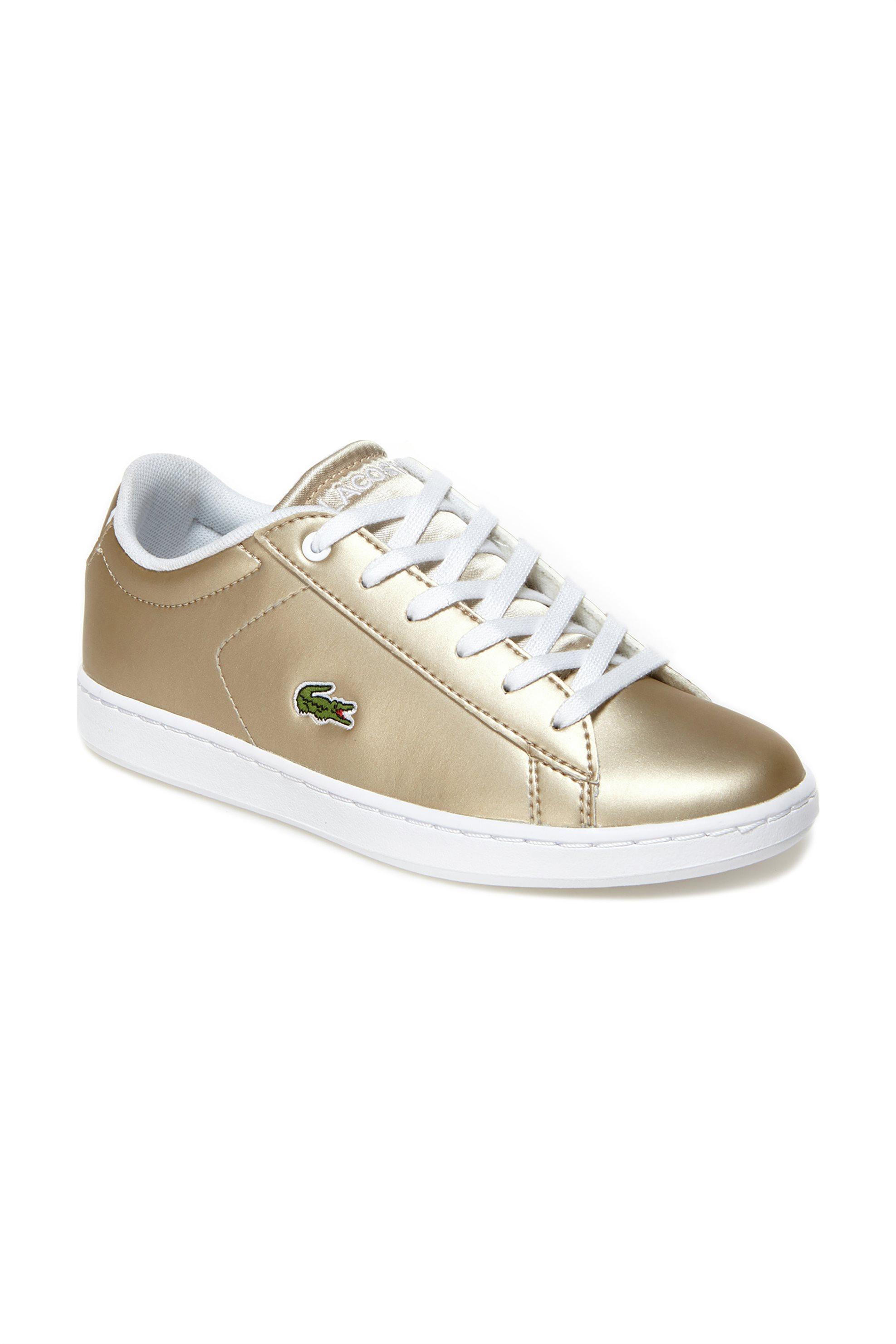 Lacoste παιδικά sneakers Carnaby Evo - 35SPC0005GW3 - Χρυσό
