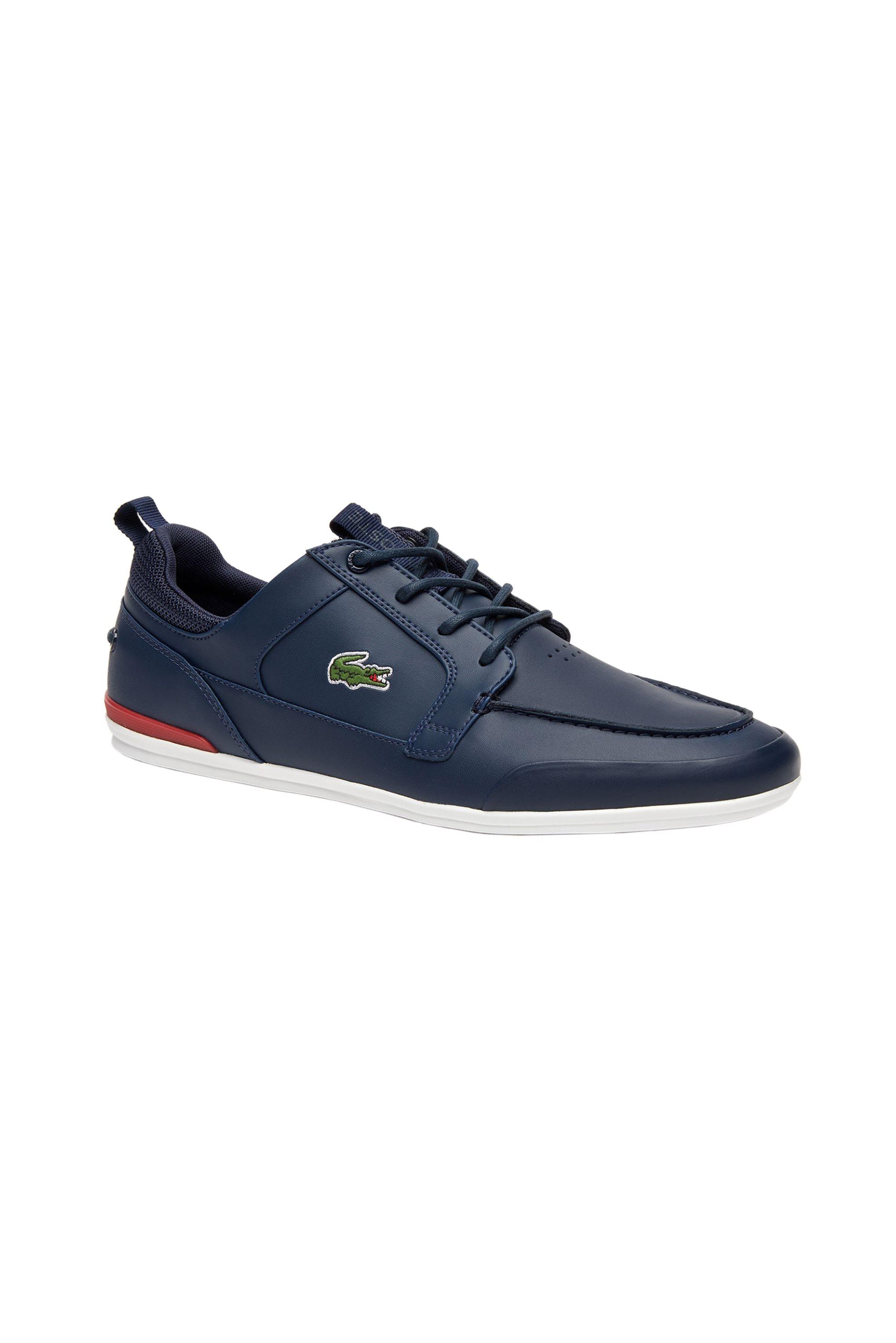 b41d9566c546 Notos Lacoste ανδρικά παπούτσια boat Marina – 37CMA0052144 – Μπλε Σκούρο