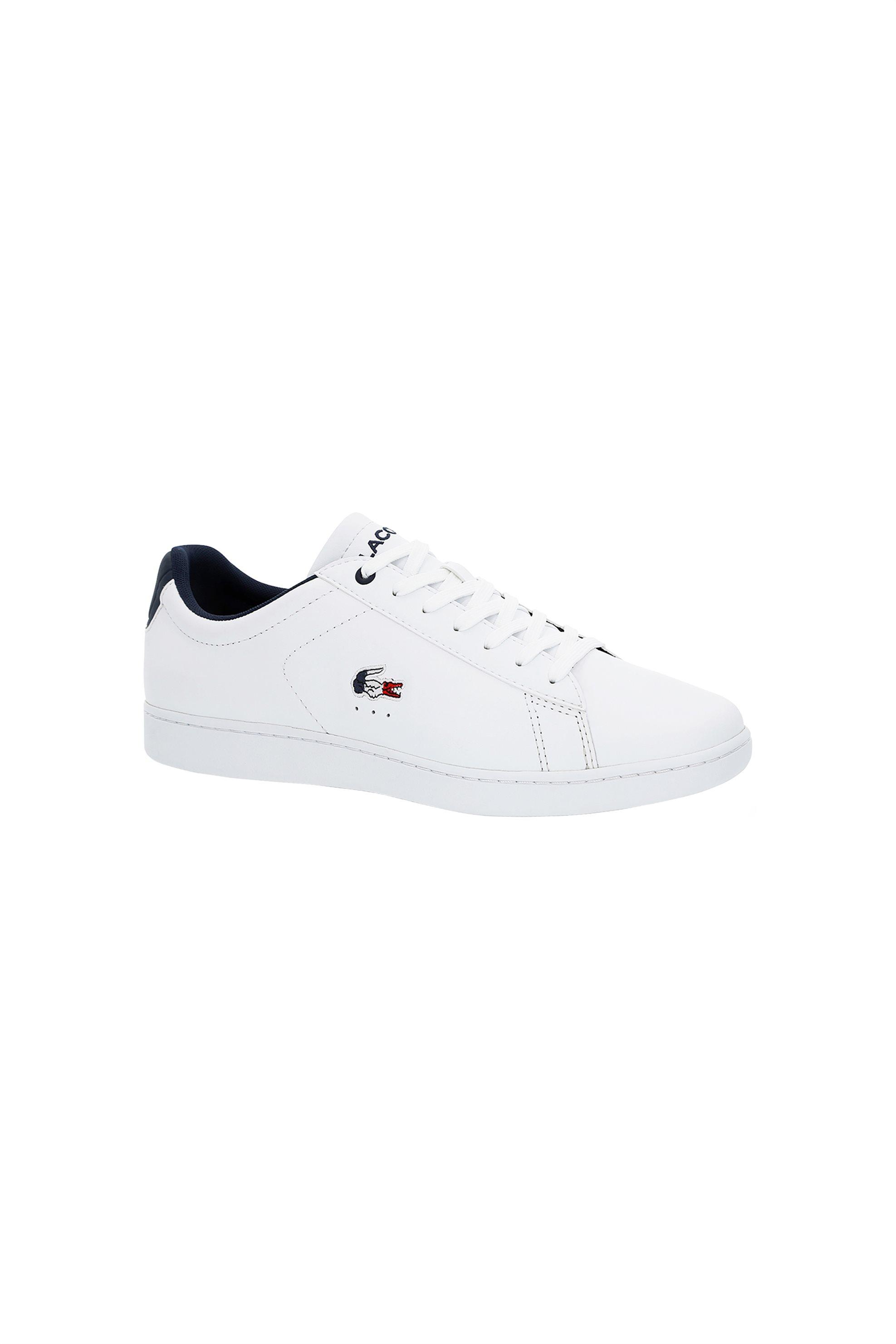 49ac4b92bc85 Notos Lacoste ανδρικά sneakers με κορδόνια Carnaby Evo – 37SMA0013407 –  Λευκό