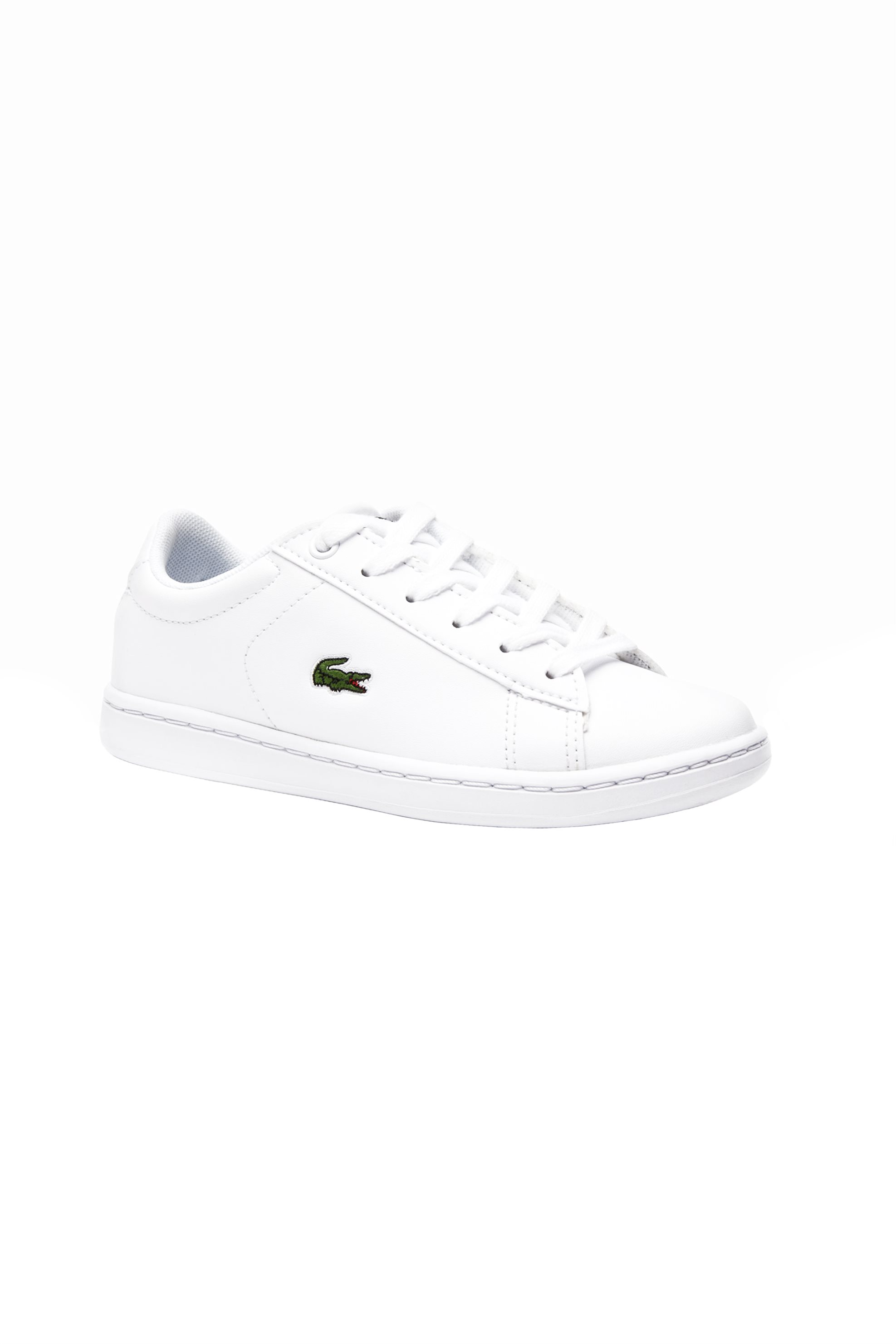 6585035f3206 Notos Lacoste παιδικά sneakers Carnaby Evo – 37SUC000321G – Λευκό