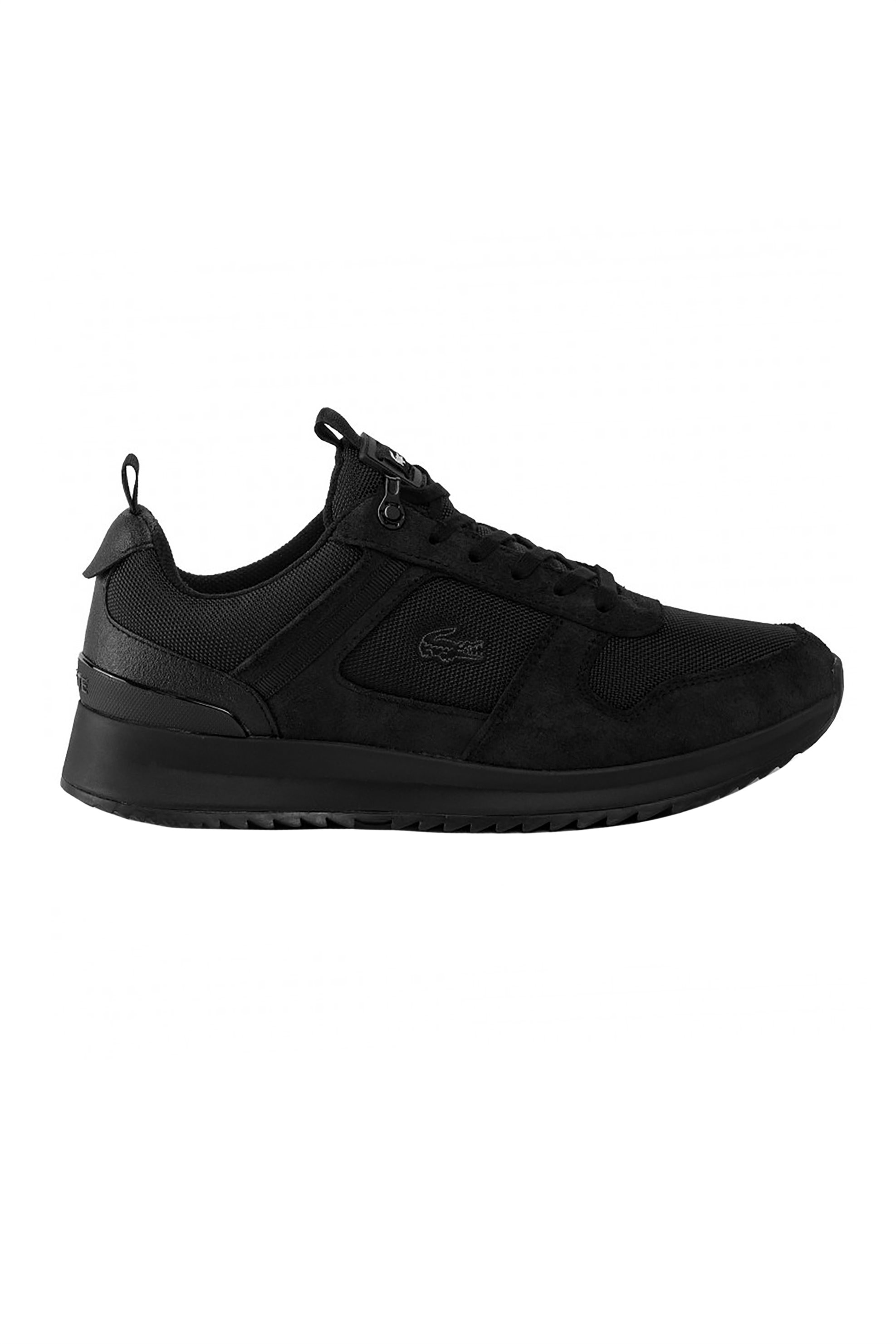 """Lacoste ανδρικά suede sneakers """"Joggeur"""" – 38SMA004102H – Καφέ"""