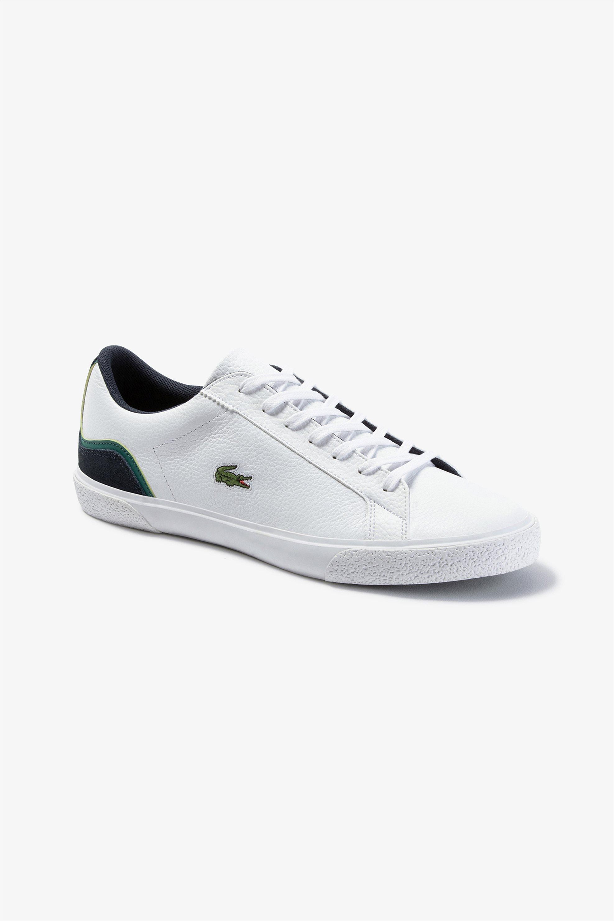 """Lacoste ανδρικά sneakers """"Lerond 120"""" – 39CMA0031042 – Λευκό"""