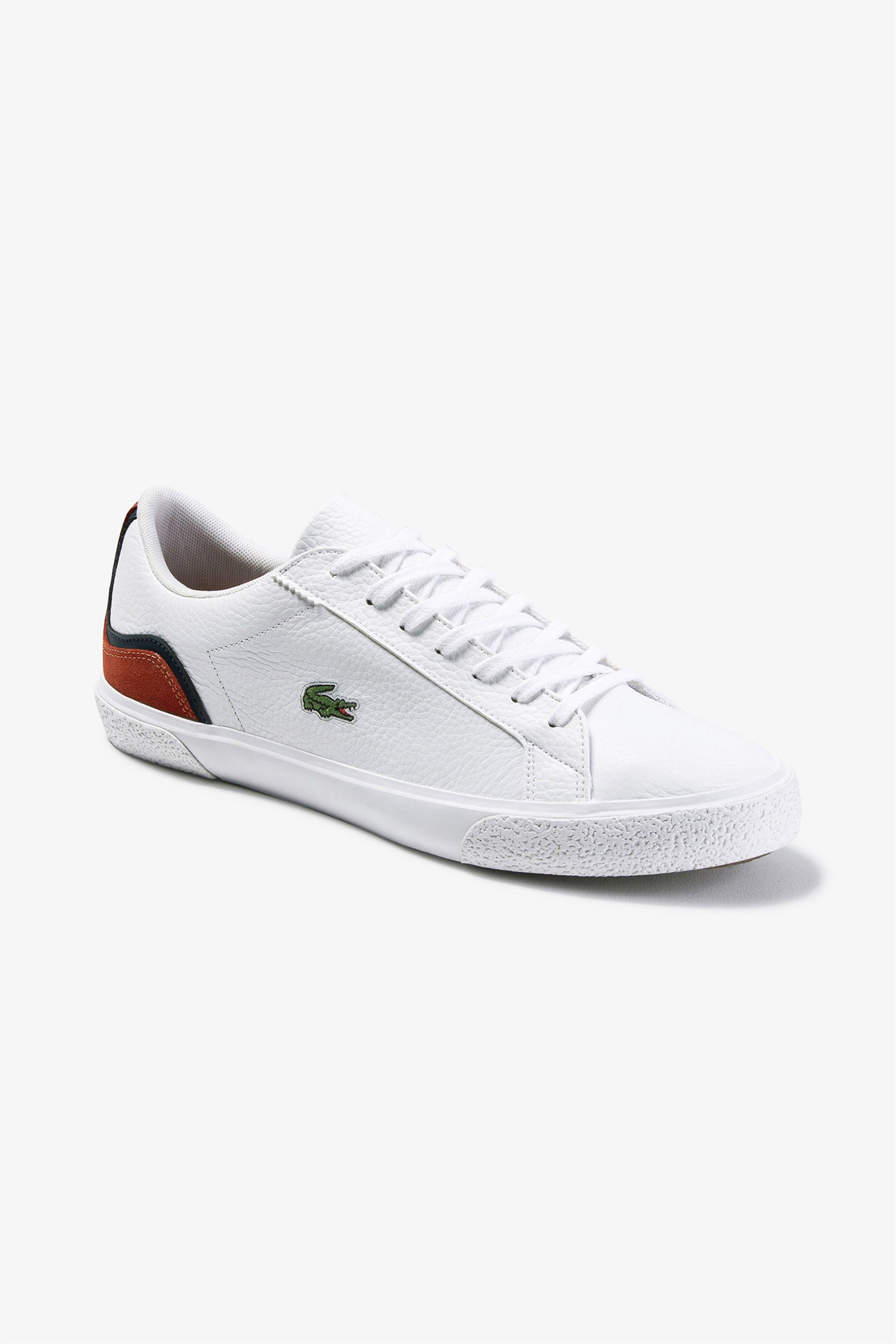 "Lacoste ανδρικά sneakers ""Lerond"" – 39CMA00641U2 – Λευκό"