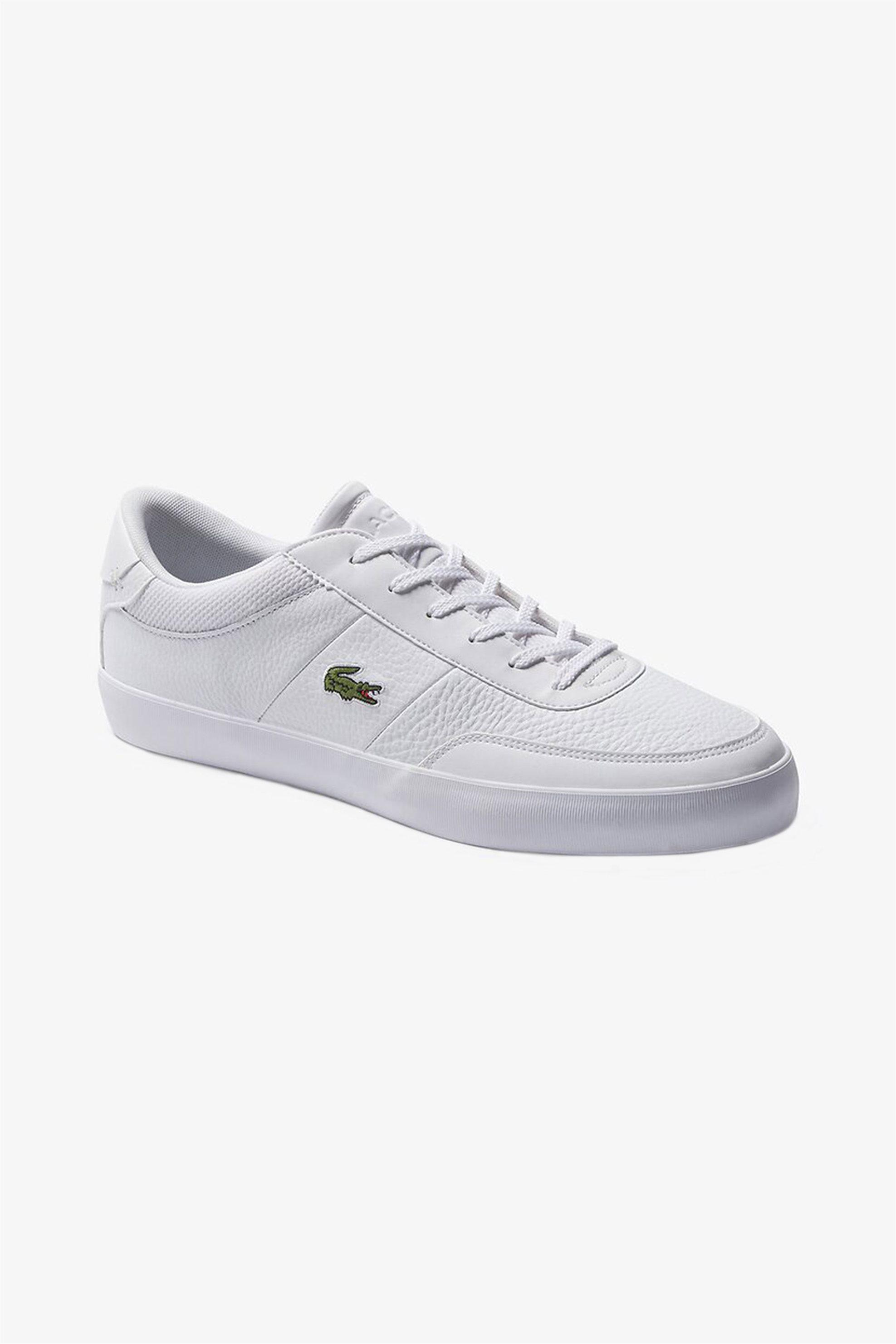"Lacoste ανδρικά sneakers ""Court Master"" – 39CMA007121G – Λευκό"