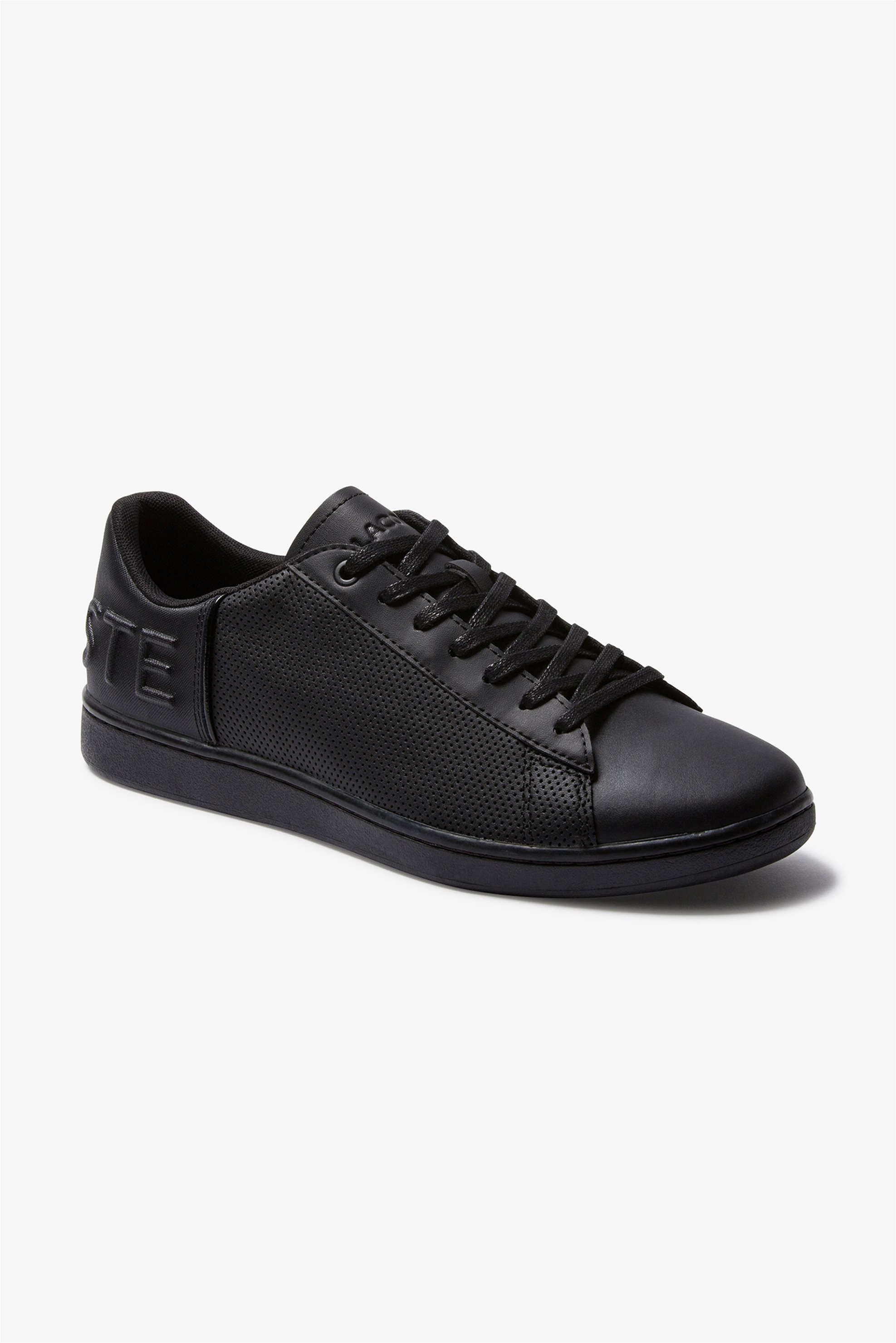 "Lacoste ανδρικά sneakers με μεγάλο λογότυπο ""Carnaby Evo 120"" – 39SMA000202H – Μαύρο"