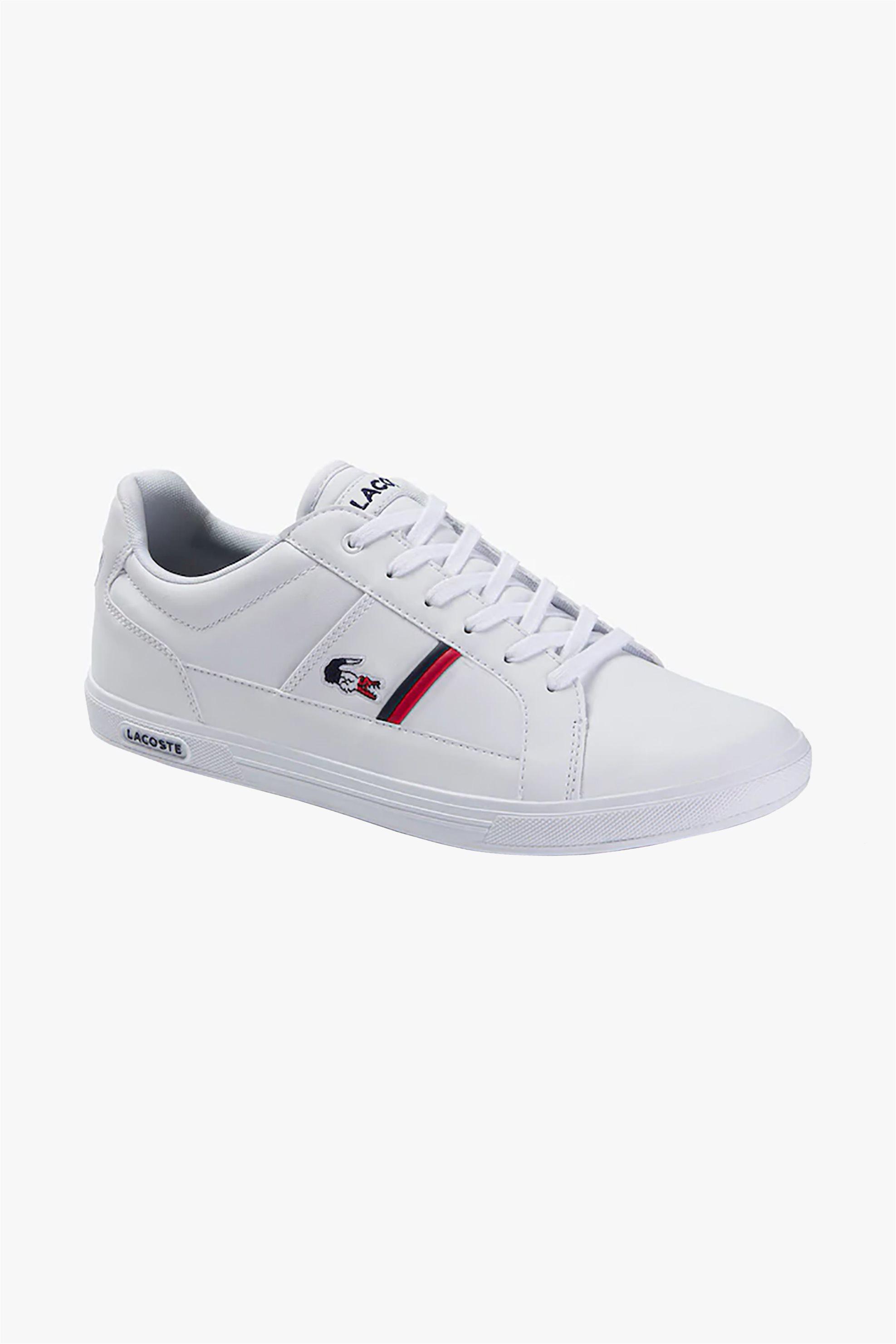 "Lacoste ανδρικά sneakers ""Europa Tricolore "" – 39SMA0031407 – Λευκό"
