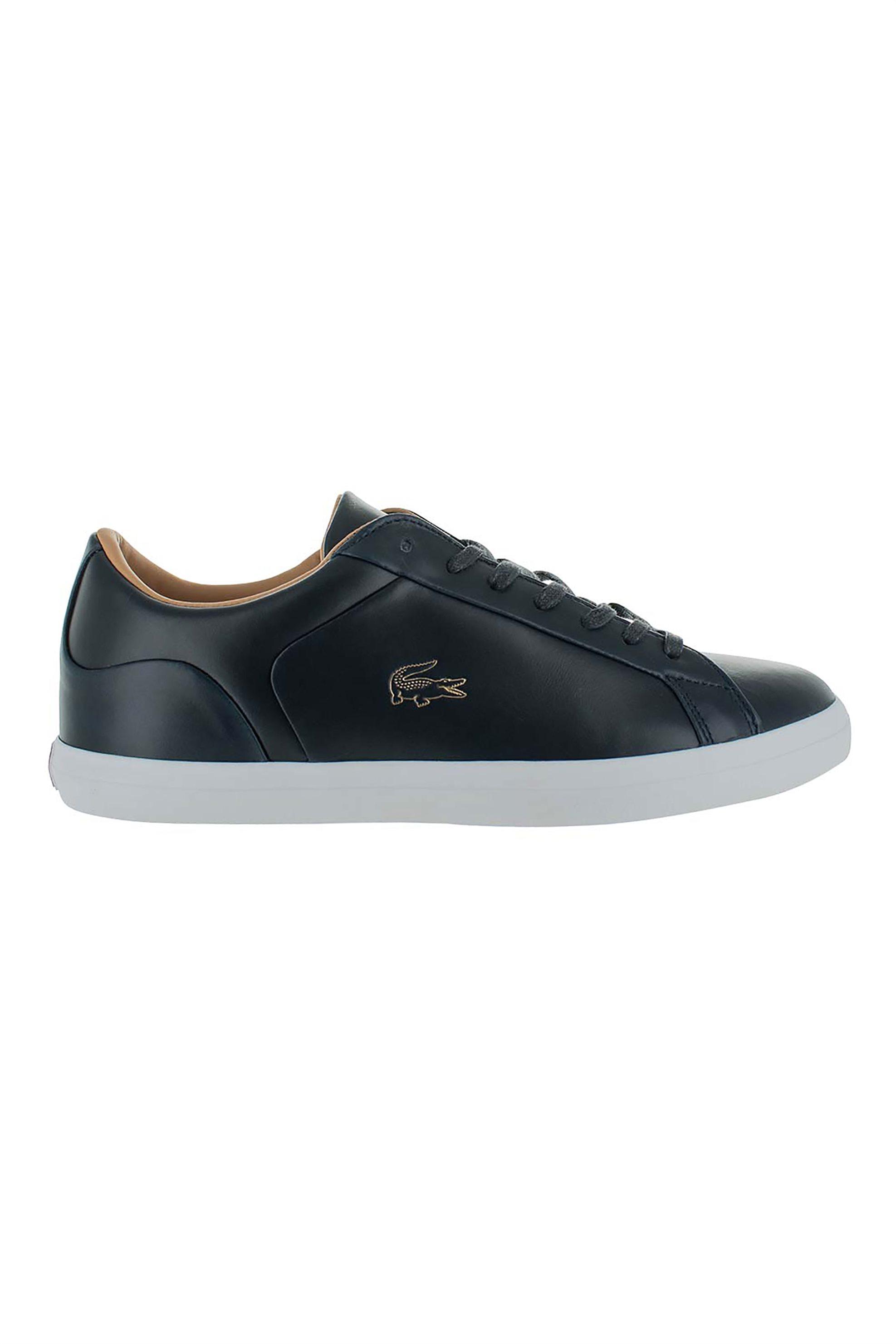 "Lacoste ανδρικα sneakers με χρυσό λογοτυπο ""Lerond"" – 40CMA0012092 – Μπλε Σκούρο"