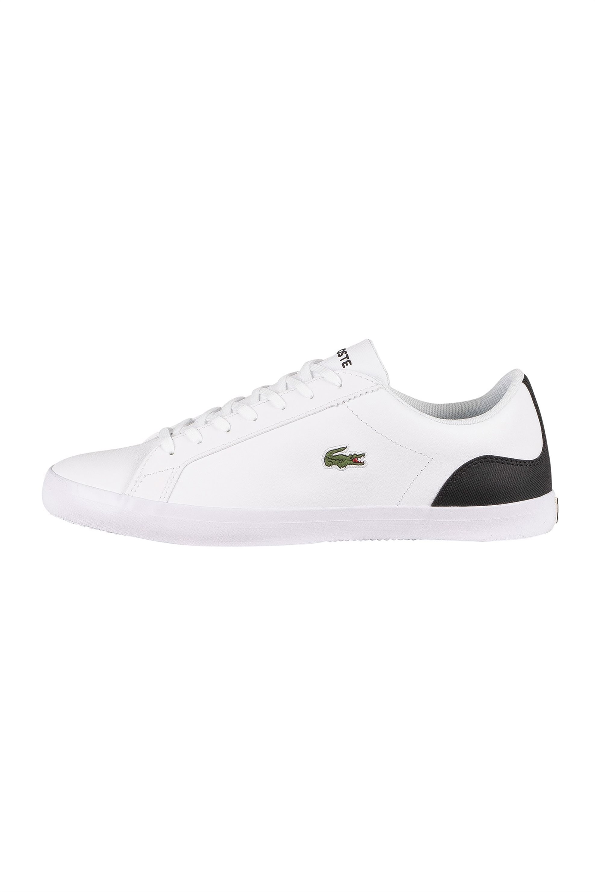 "Lacoste ανδρικα sneakers με κεντημένο λογότυπο ""Lerond 0120"" – 40CMA0027147 – Λευκό"
