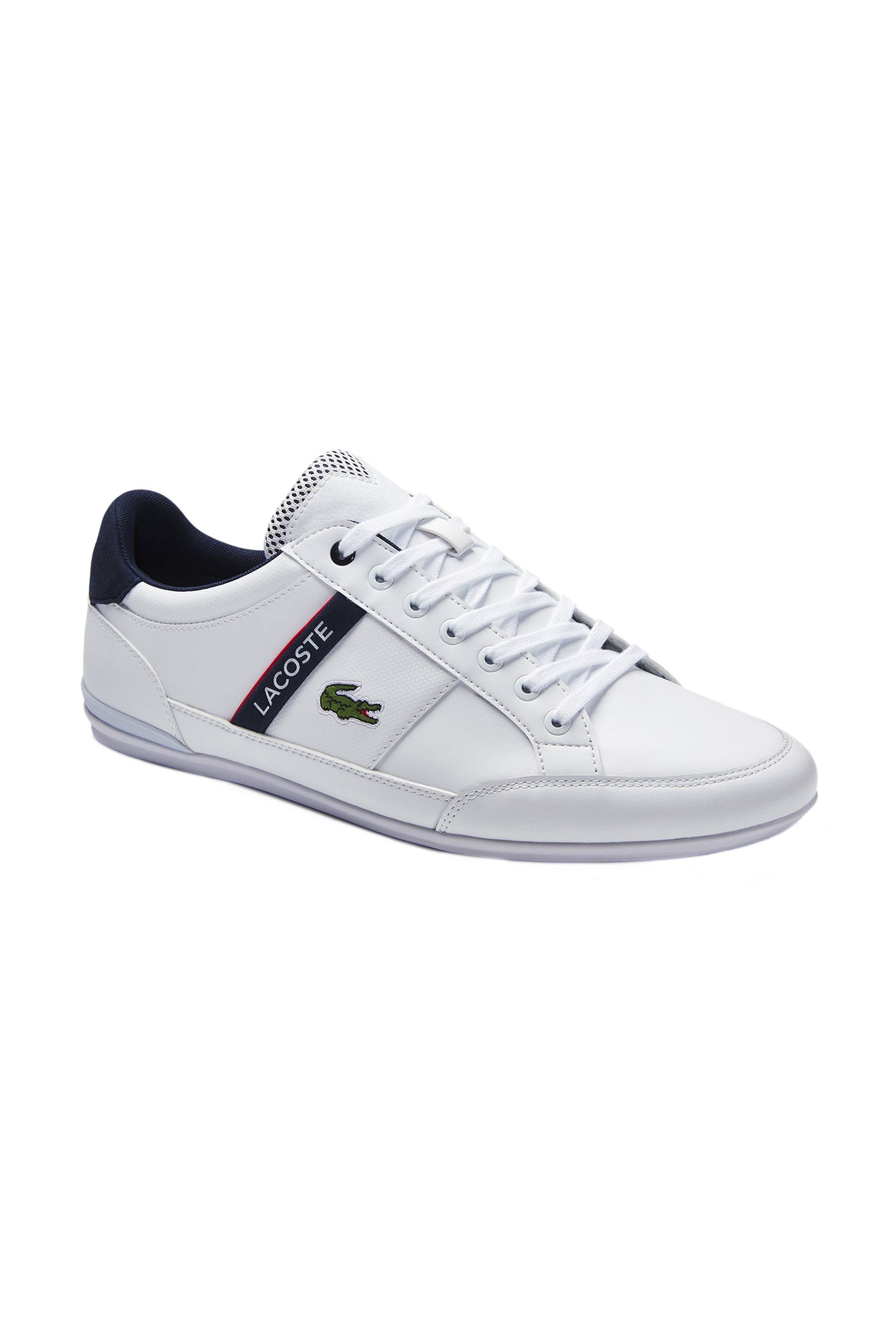 """Lacoste ανδρικά sneakers """"Chaymon"""" – 40CMA0067407 – Λευκό"""