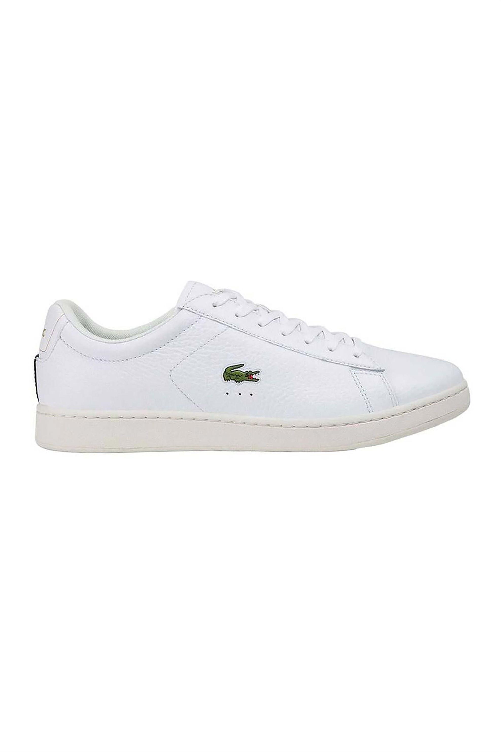 "Lacoste ανδρικα sneakers με κορδόνια ""Carnaby Evo 0120 2"" – 40SMA0015147 – Λευκό"