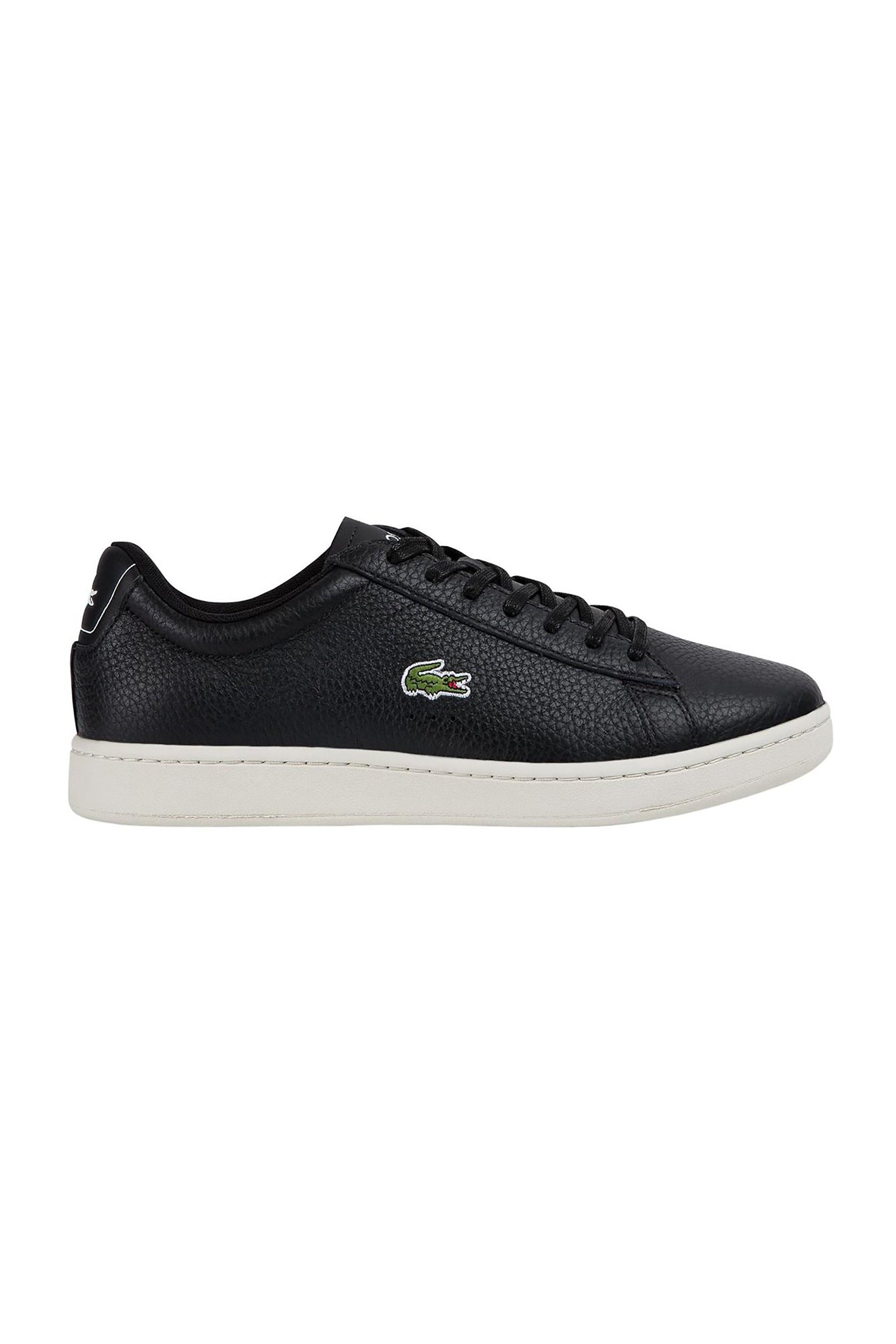 "Lacoste ανδρικα sneakers με κορδόνια ""Carnaby Evo 0120 2"" – 40SMA0015454 – Μαύρο"