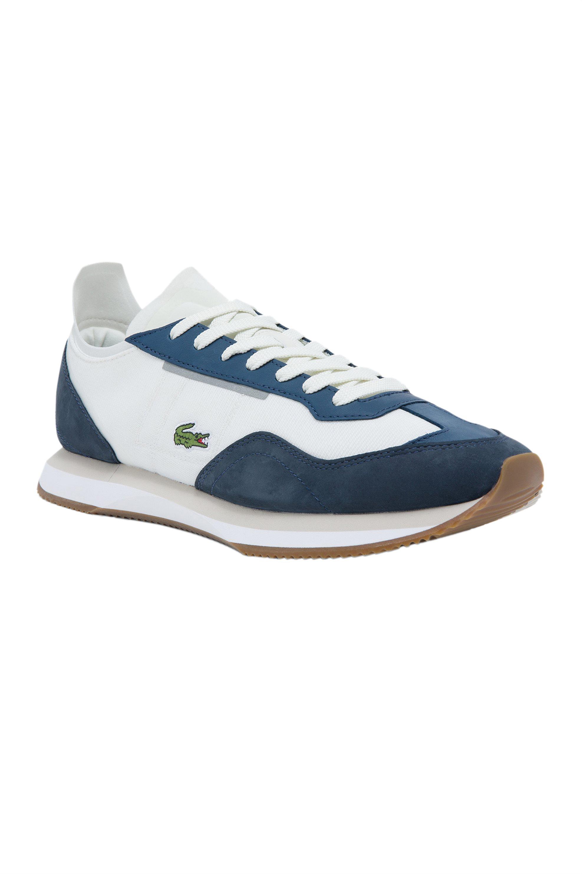 "Lacoste ανδρικά sneakers ""Match Break"" – 41SMA0103WN1 – Λευκό"