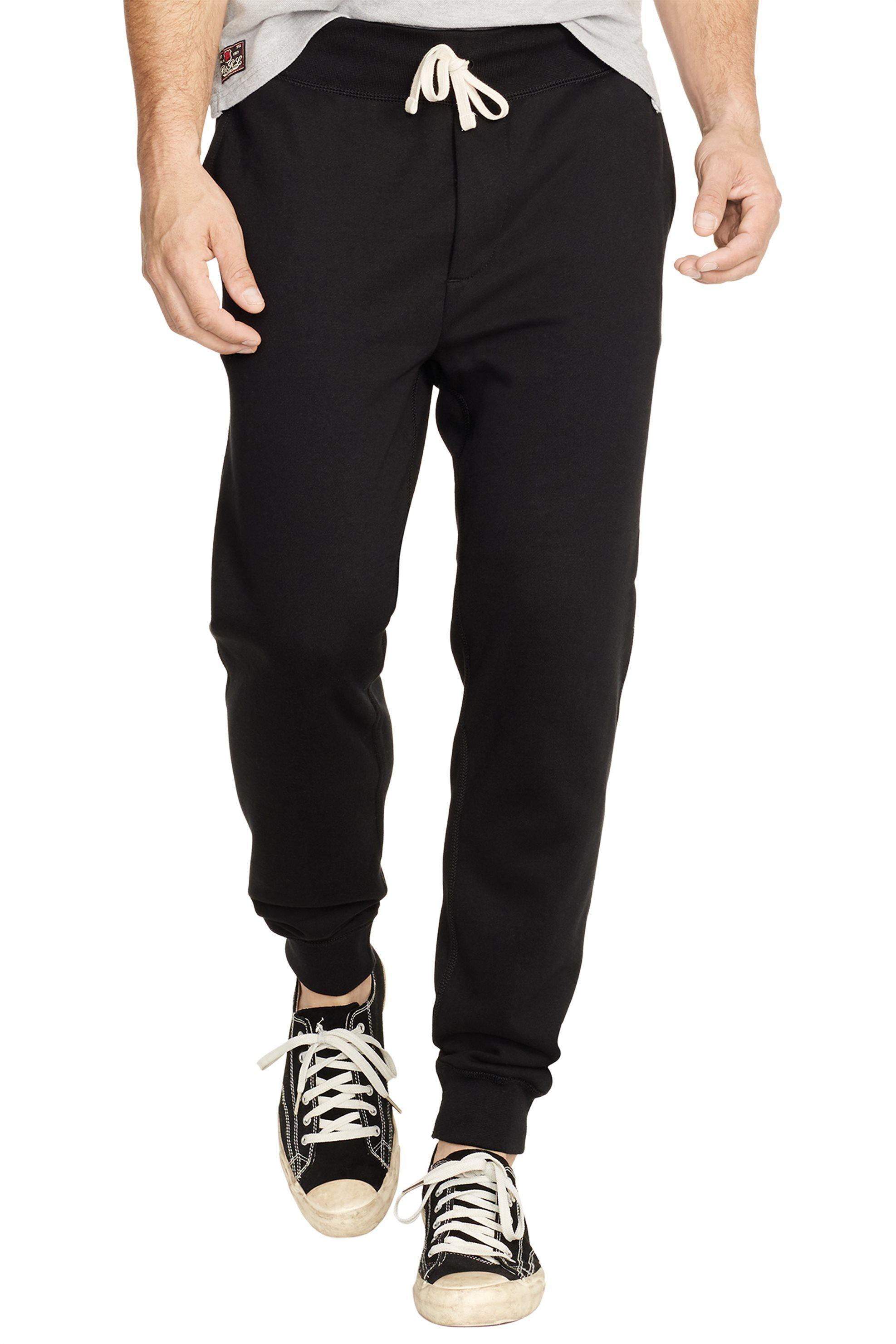 Polo Ralph Lauren ανδρικό μαύρο παντελόνι φόρμας - 710600105001 - Μαύρο ανδρασ   ρουχα   παντελόνια   φόρμες