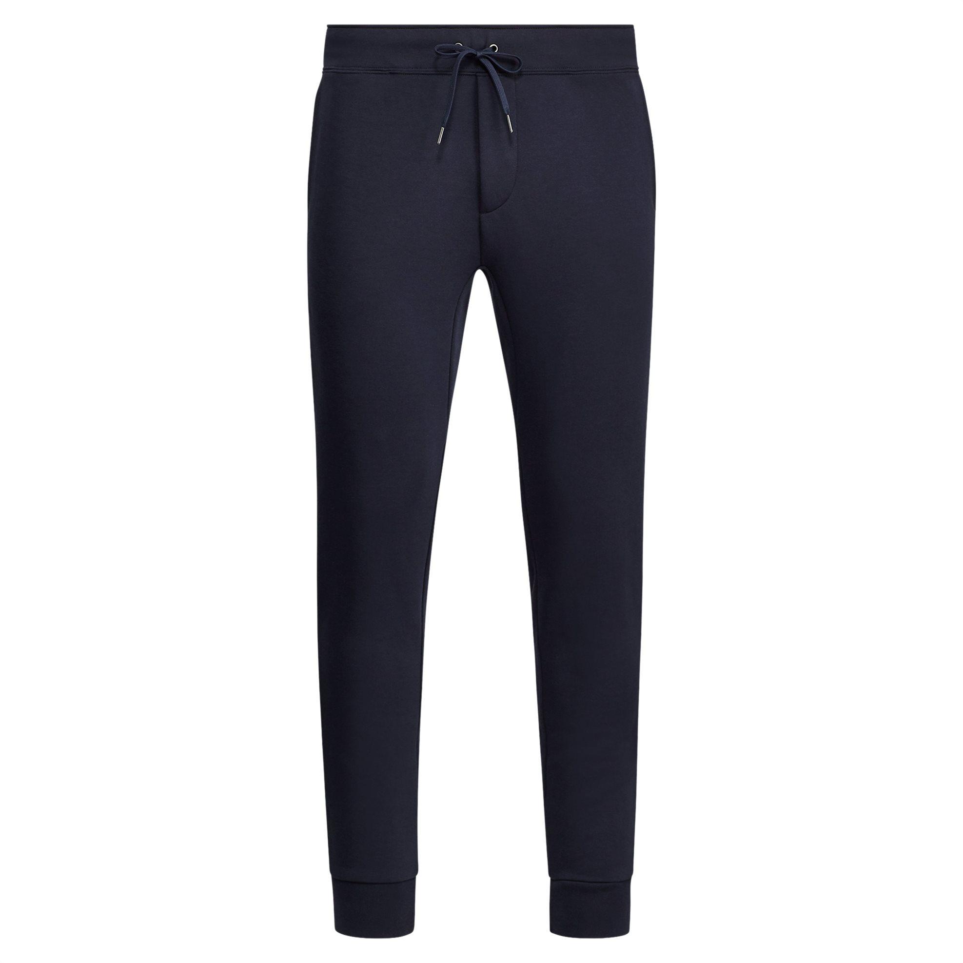 Polo Ralph Lauren ανδρικό μπλε σκούρο παντελόνι φόρμας Double-Knit Jogger - 7106 ανδρασ   ρουχα   παντελόνια   φόρμες