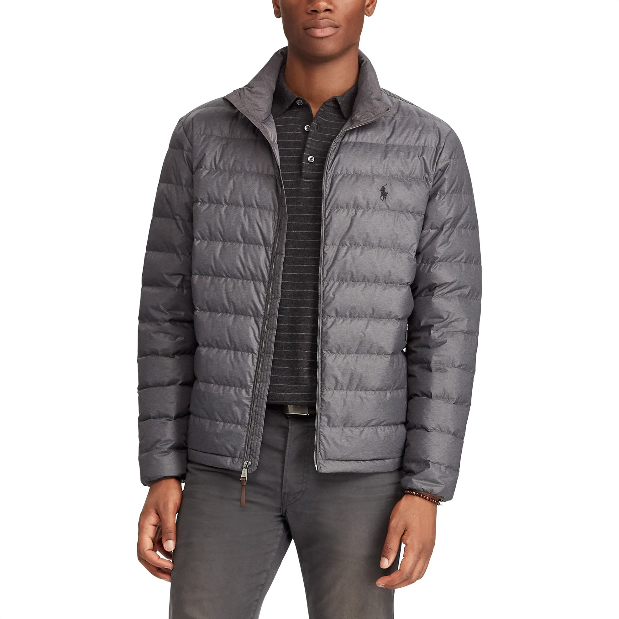 Polo Ralph Lauren ανδρικό μπουφάν καπιτονέ Packable Quilted Down Windsor Heather ανδρασ   ρουχα   παλτό   μπουφάν   καπιτονέ