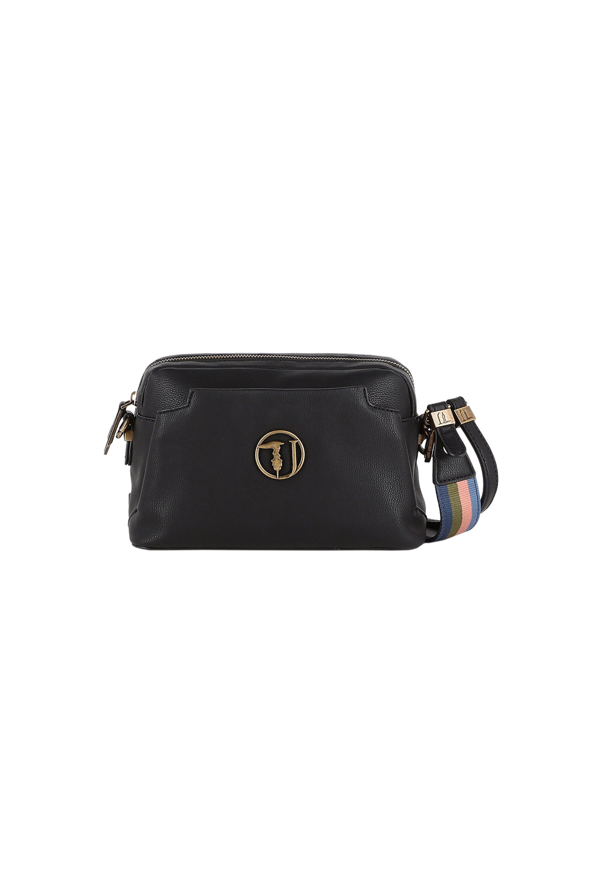 Trussardi Jeans γυναικείο mini bag Rabarbaro - 75B00433-9Y099999 - Μαύρο γυναικα   τσαντεσ   mini bags