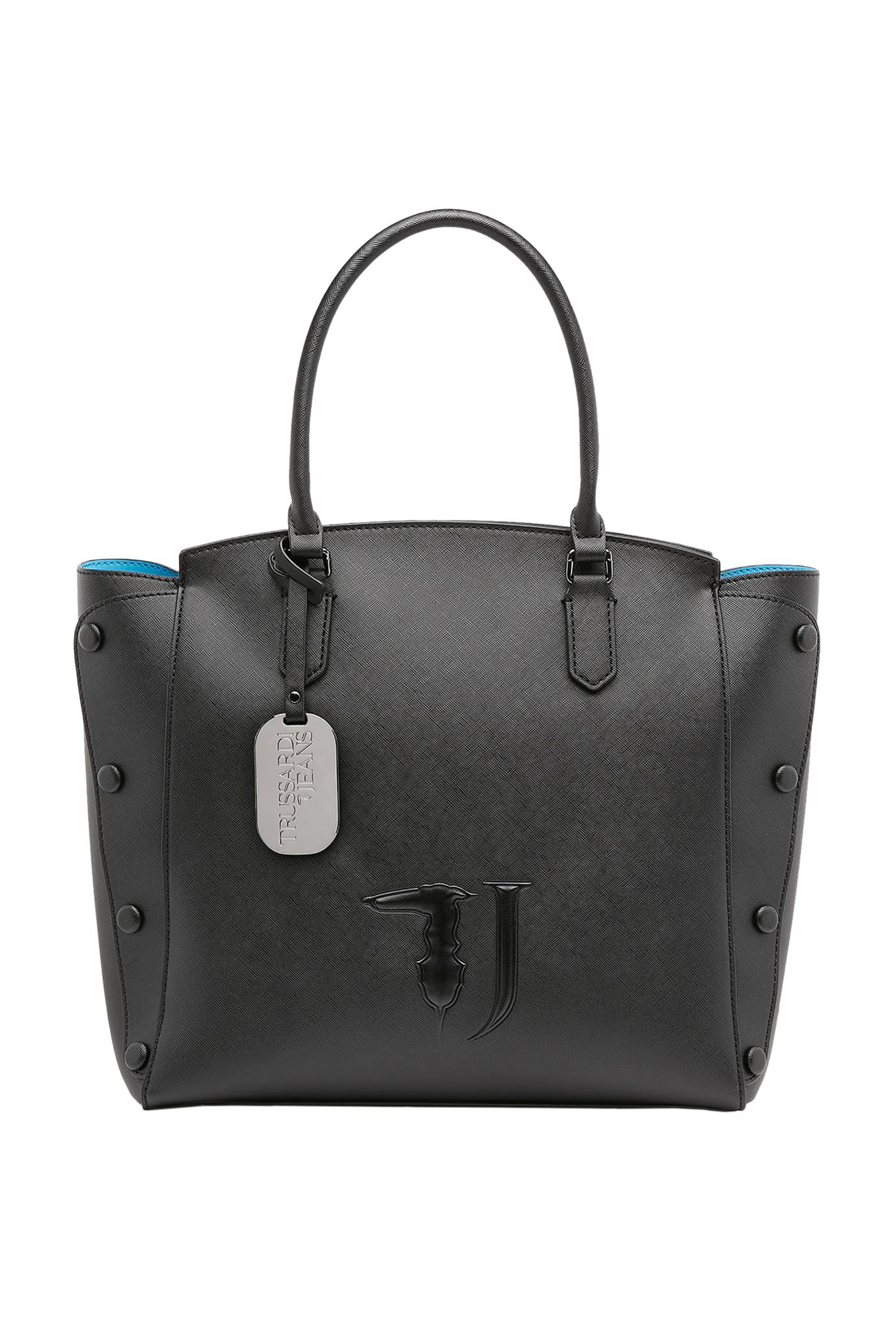 Trussardi Jeans γυναικεία shopping bag Μelissa - 75B00452-9Y099999 - Μαύρο γυναικα   τσαντεσ   ώμου   shopper bags