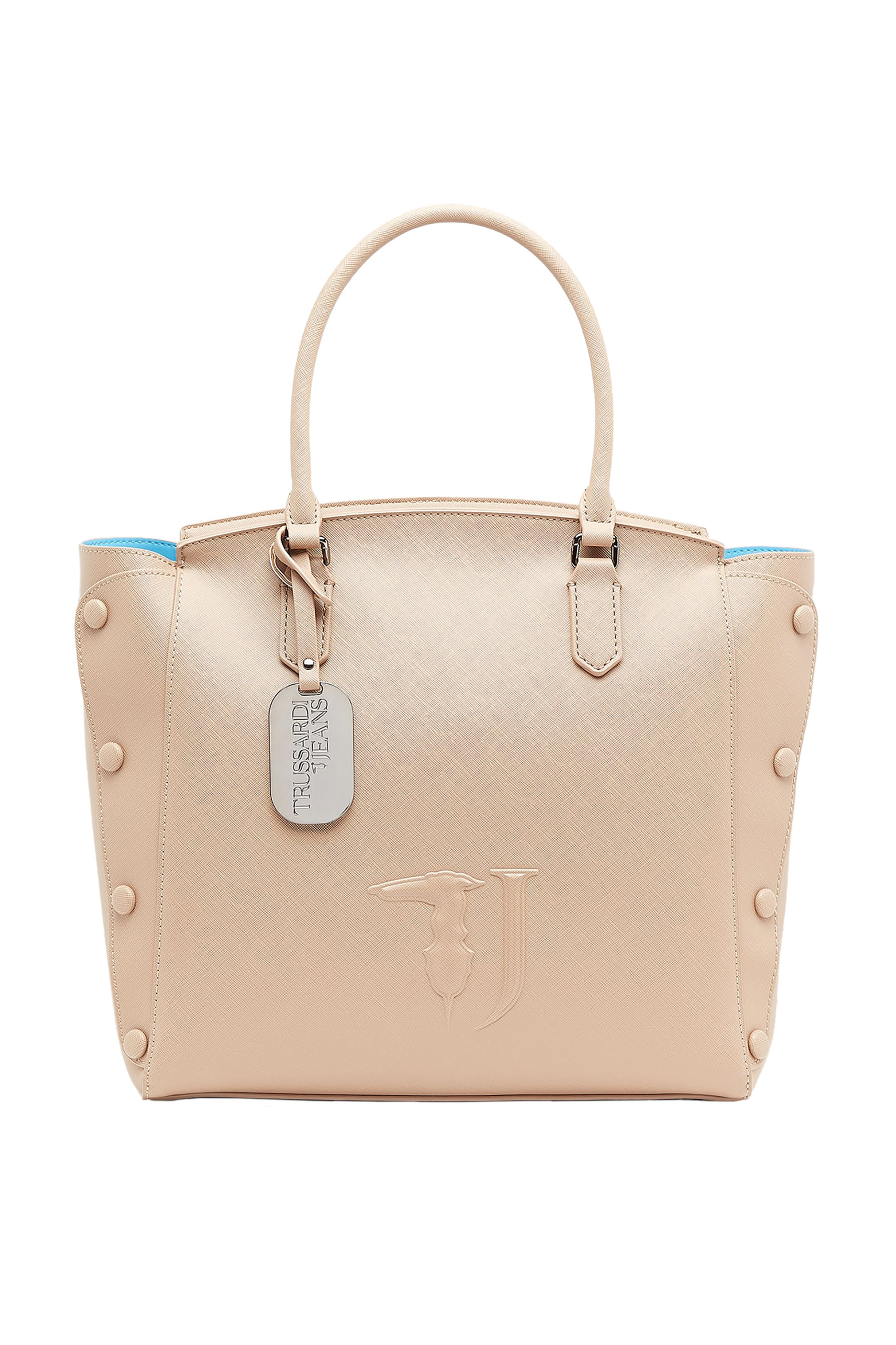 Trussardi Jeans γυναικεία shopping bag Μelissa - 75B00452-9Y099999 - Μπεζ γυναικα   τσαντεσ   ώμου   shopper bags