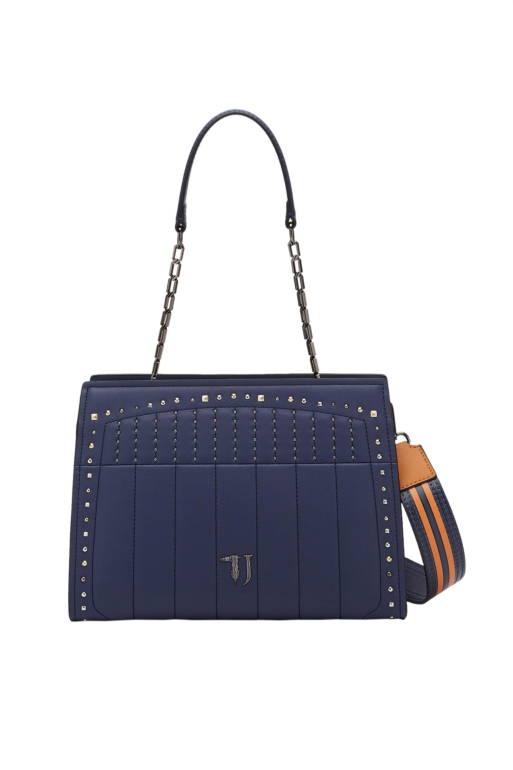 Trussardi Jeans tote bag Curcuma καπιτονέ - 75B00505-9Y099999 - Μπλε Σκούρο γυναικα   τσαντεσ   ώμου   shopper bags