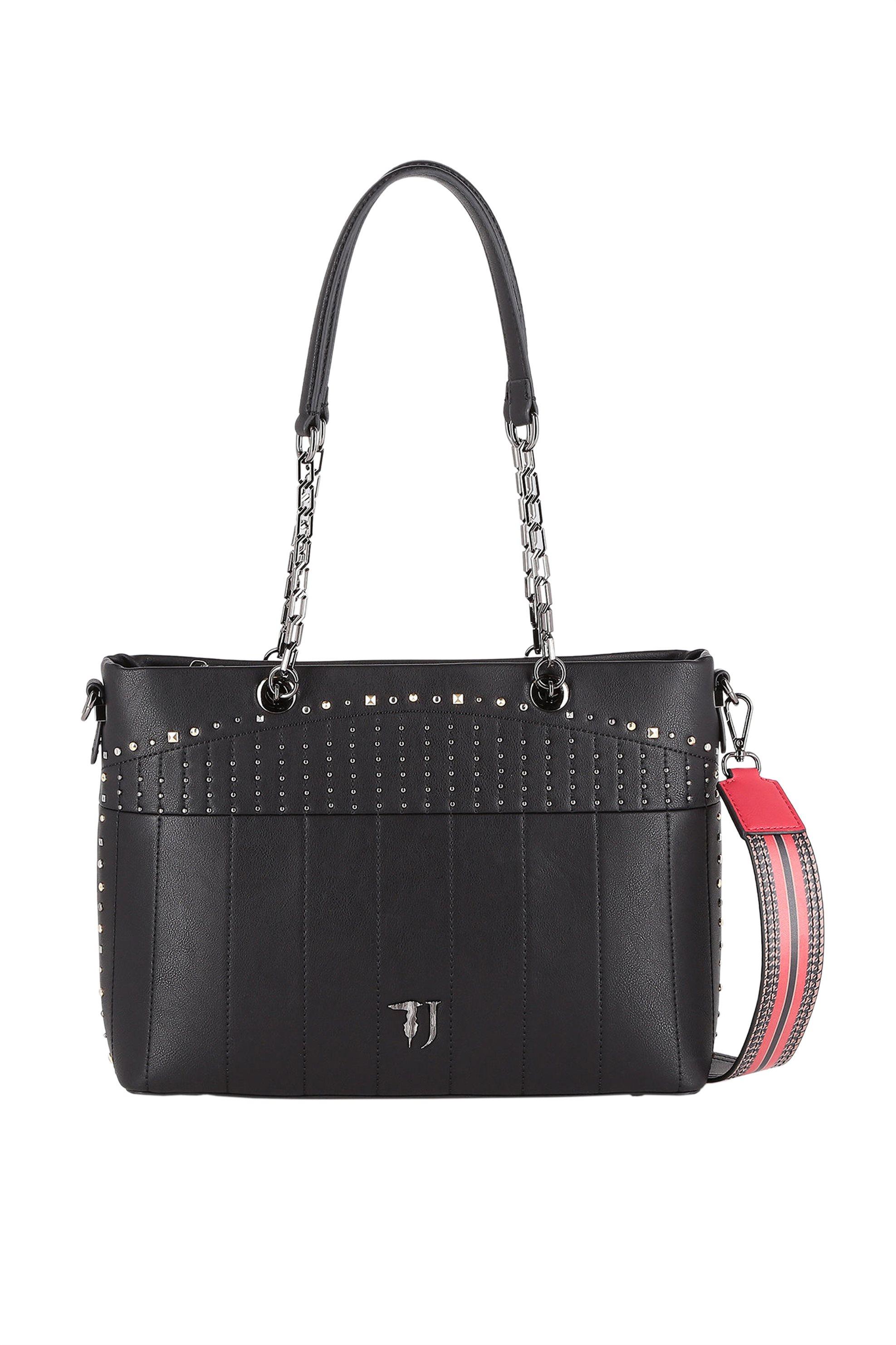 Trussardi Jeans τσάντα ώμου Curcuma καπιτονέ - 75B00507-9Y099999 - Μαύρο γυναικα   τσαντεσ   ώμου   shopper bags
