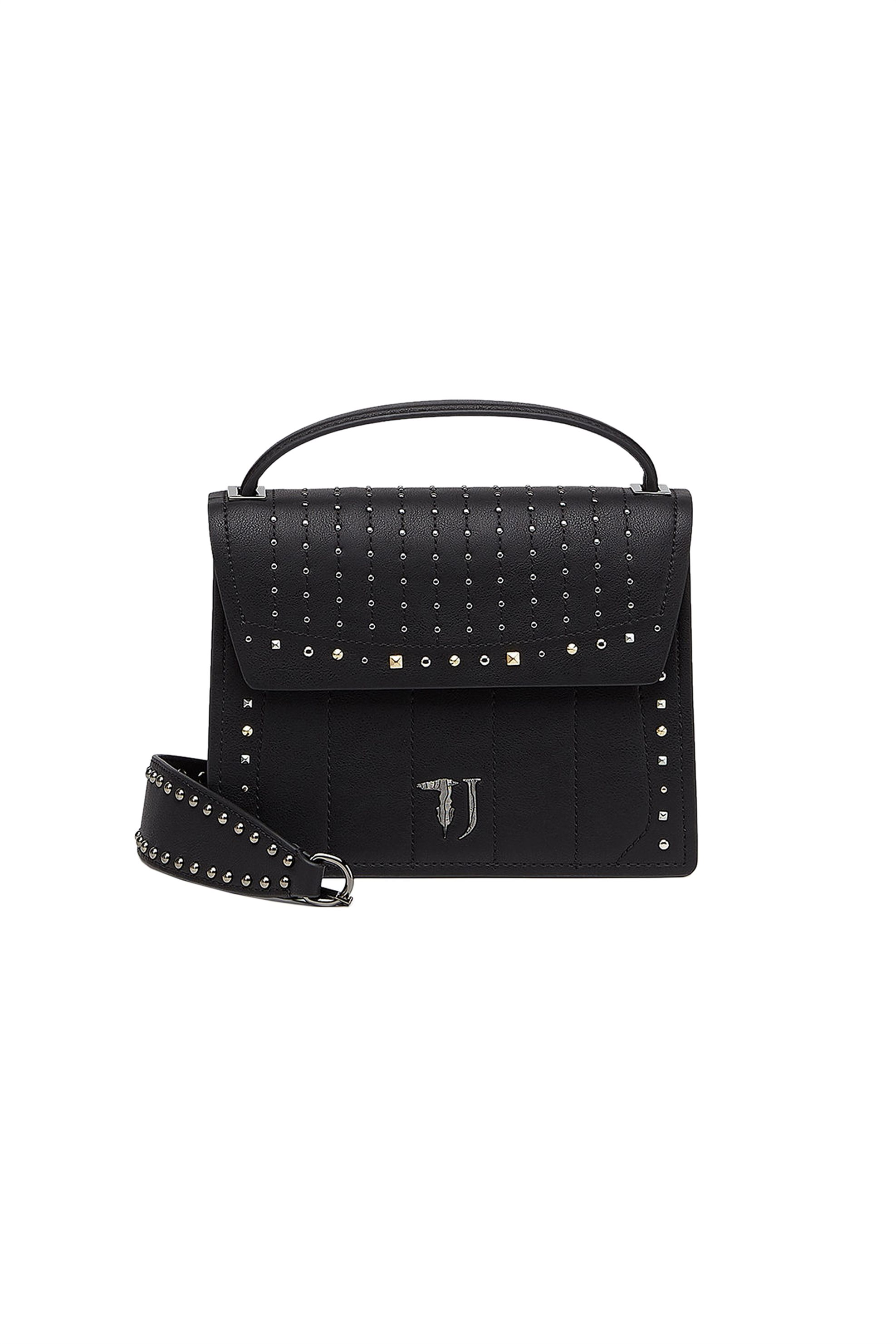 Trussardi Jeans τσάντα χειρός mini Curcuma καπιτονέ - 75B00510-9Y099999 - Μαύρο γυναικα   τσαντεσ   τσάντες χειρός
