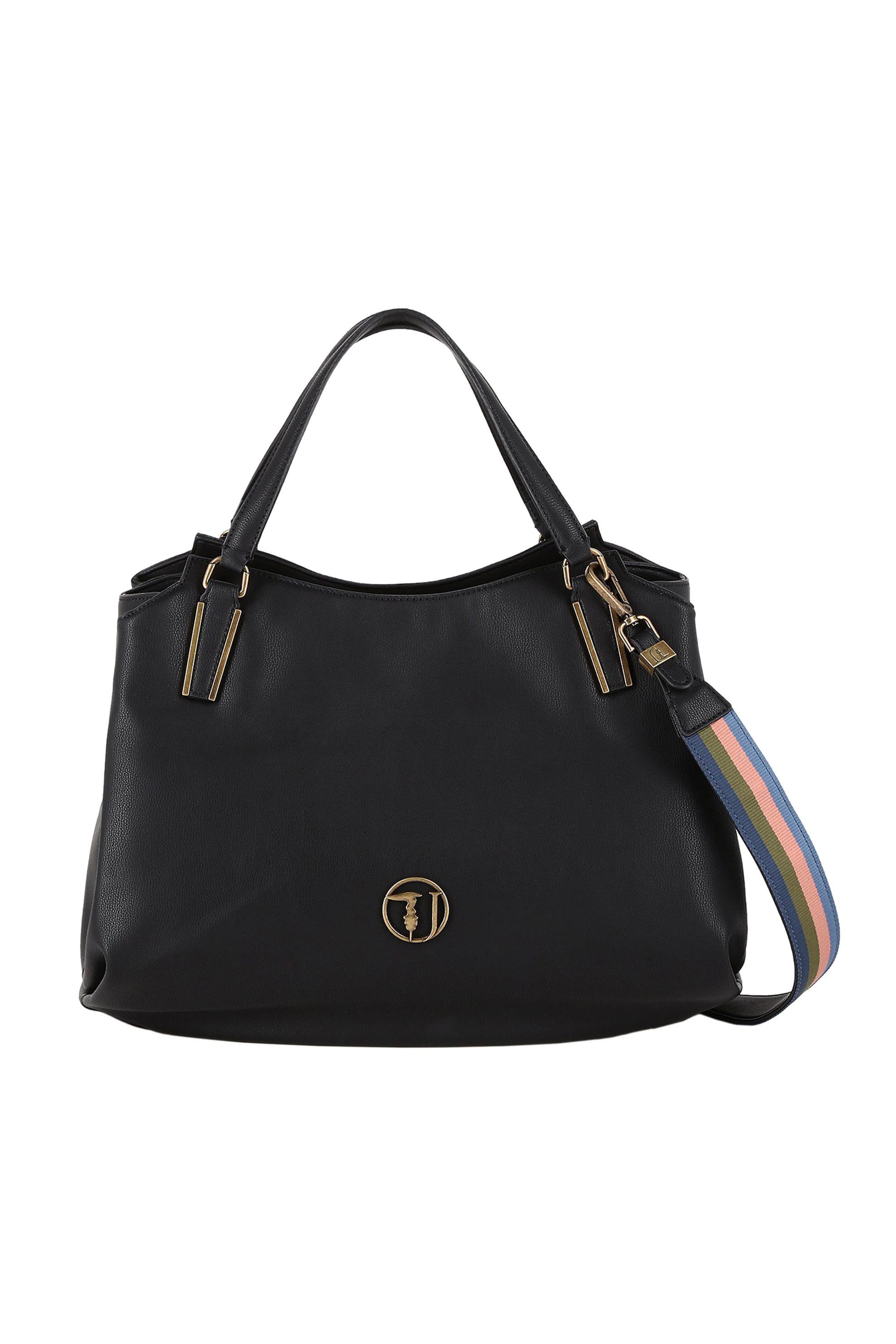 Trussardi Jeans γυναικεία τσάντα Rabarbaro Tote - 75B00551-9Y099999 - Μαύρο γυναικα   τσαντεσ   τσάντες χειρός