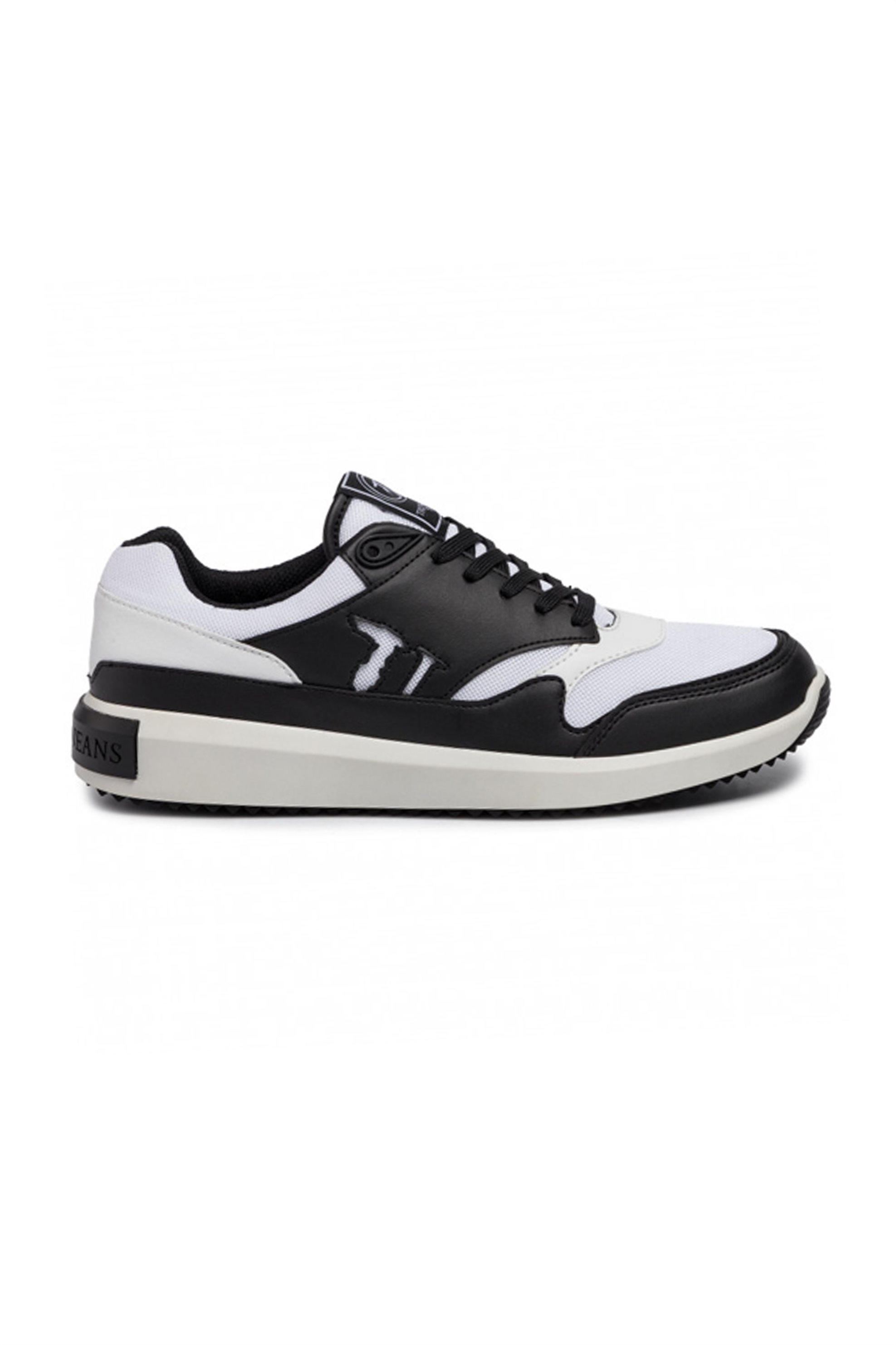 Trussardi ανδρικά sneakers colourblocked – 77A00184-9Y099999 – Μαύρο