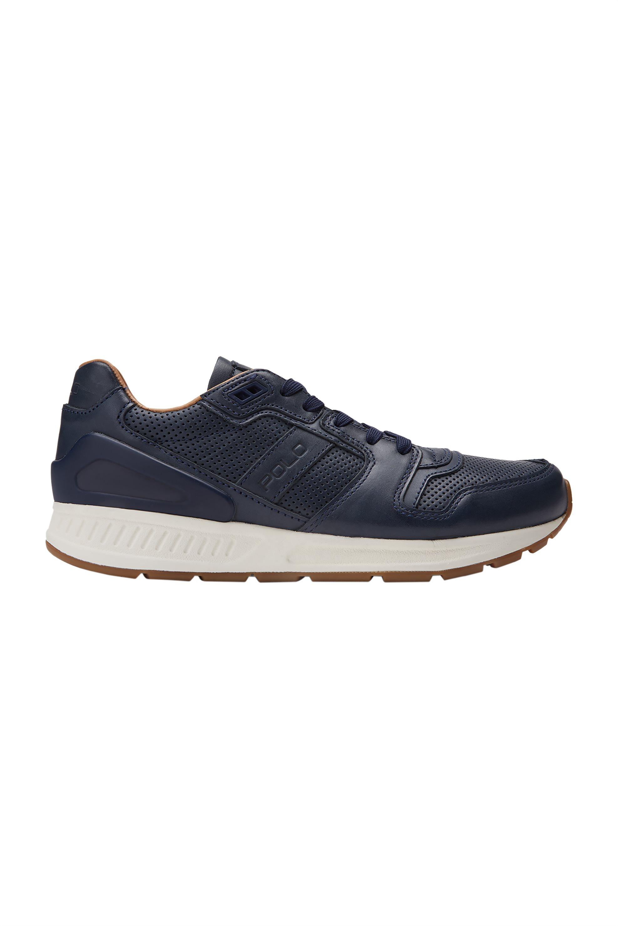 -60% Notos Polo Ralph Lauren ανδρικά παπούτσια δερμάτινα με κορδόνια –  809674774006 – Μπλε Σκούρο 28306eb5e8e