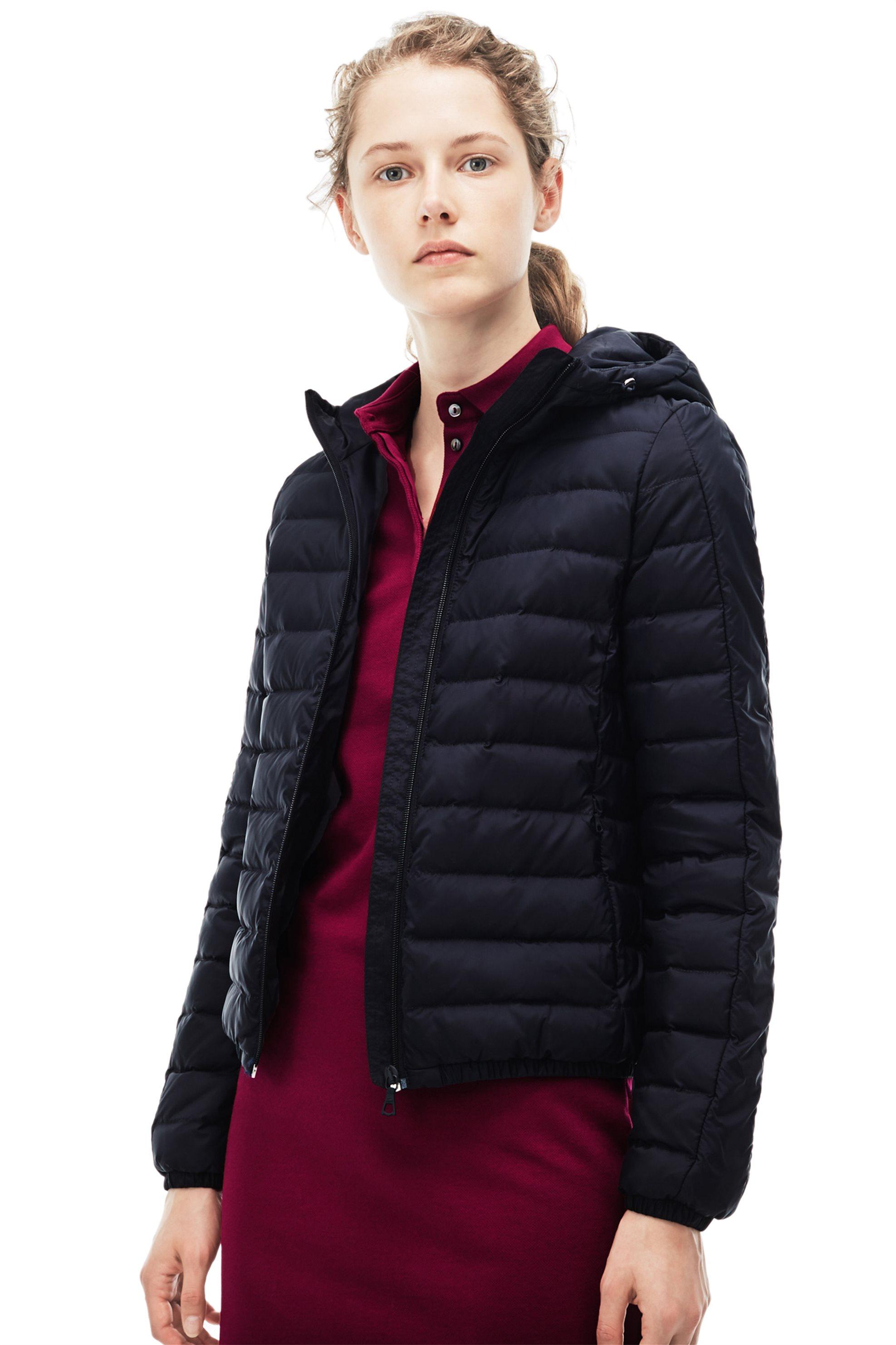Γυναικείο μπουφάν Lacoste - BF7836 - Μπλε Σκούρο γυναικα   ρουχα   πανωφόρια   μπουφάν   σακάκια