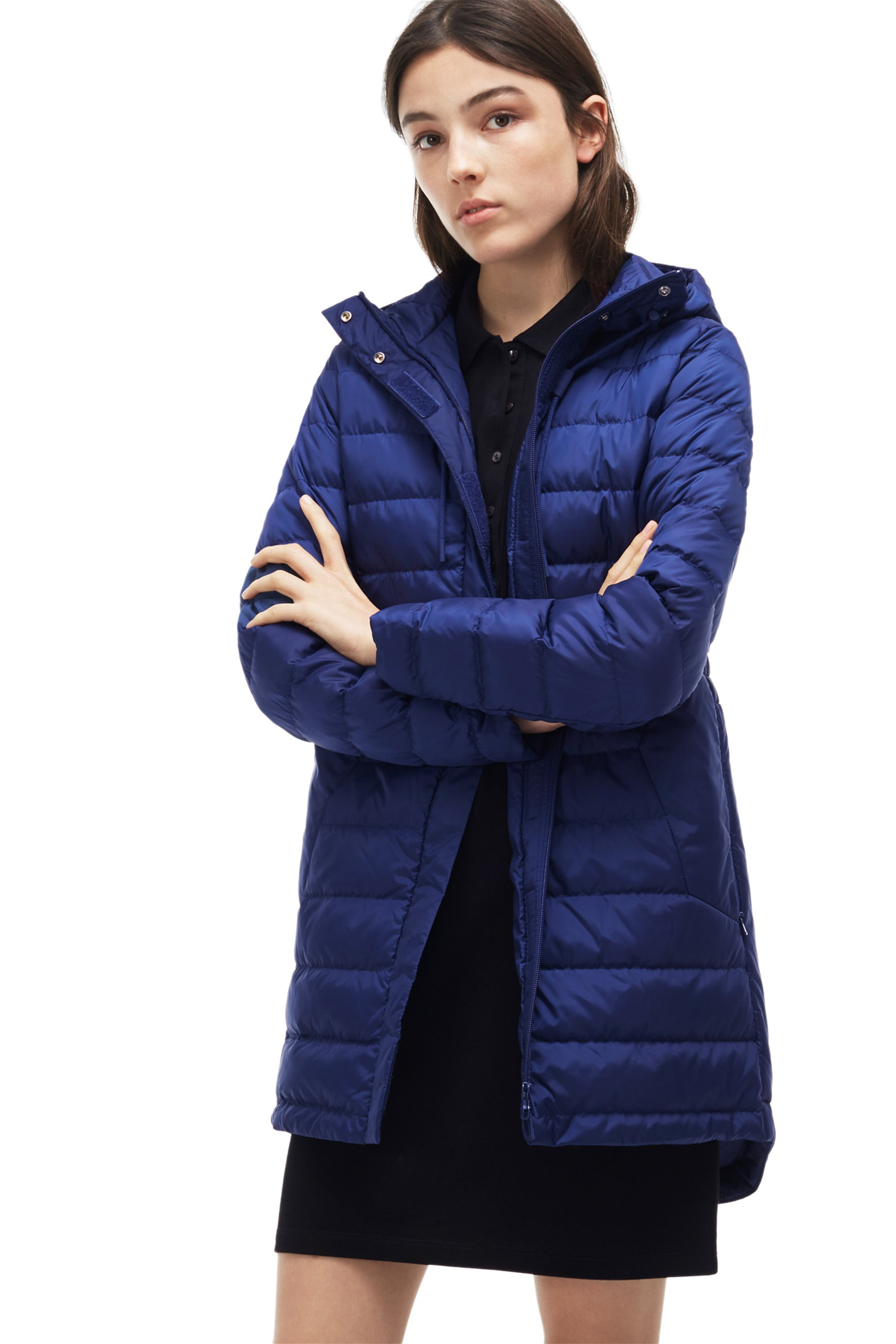 Γυναικείο μπουφάν Lacoste - BF9069 - Μπλε Ηλεκτρίκ γυναικα   ρουχα   πανωφόρια   μπουφάν   σακάκια