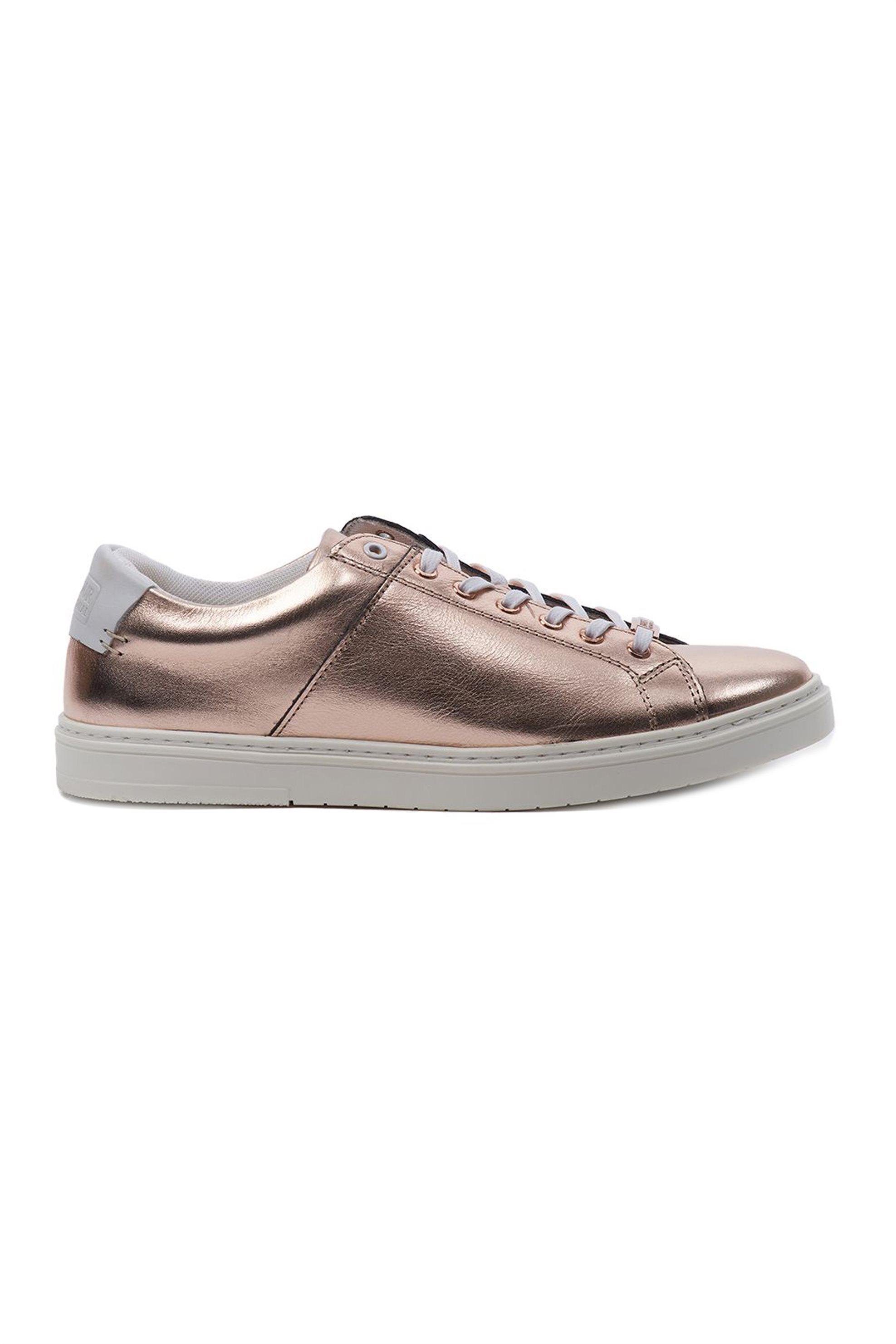 "Barbour γυναικεία sneakers με κορδόνια ""Herrera Trainers"" – LFO0307 – Χάλκινο"