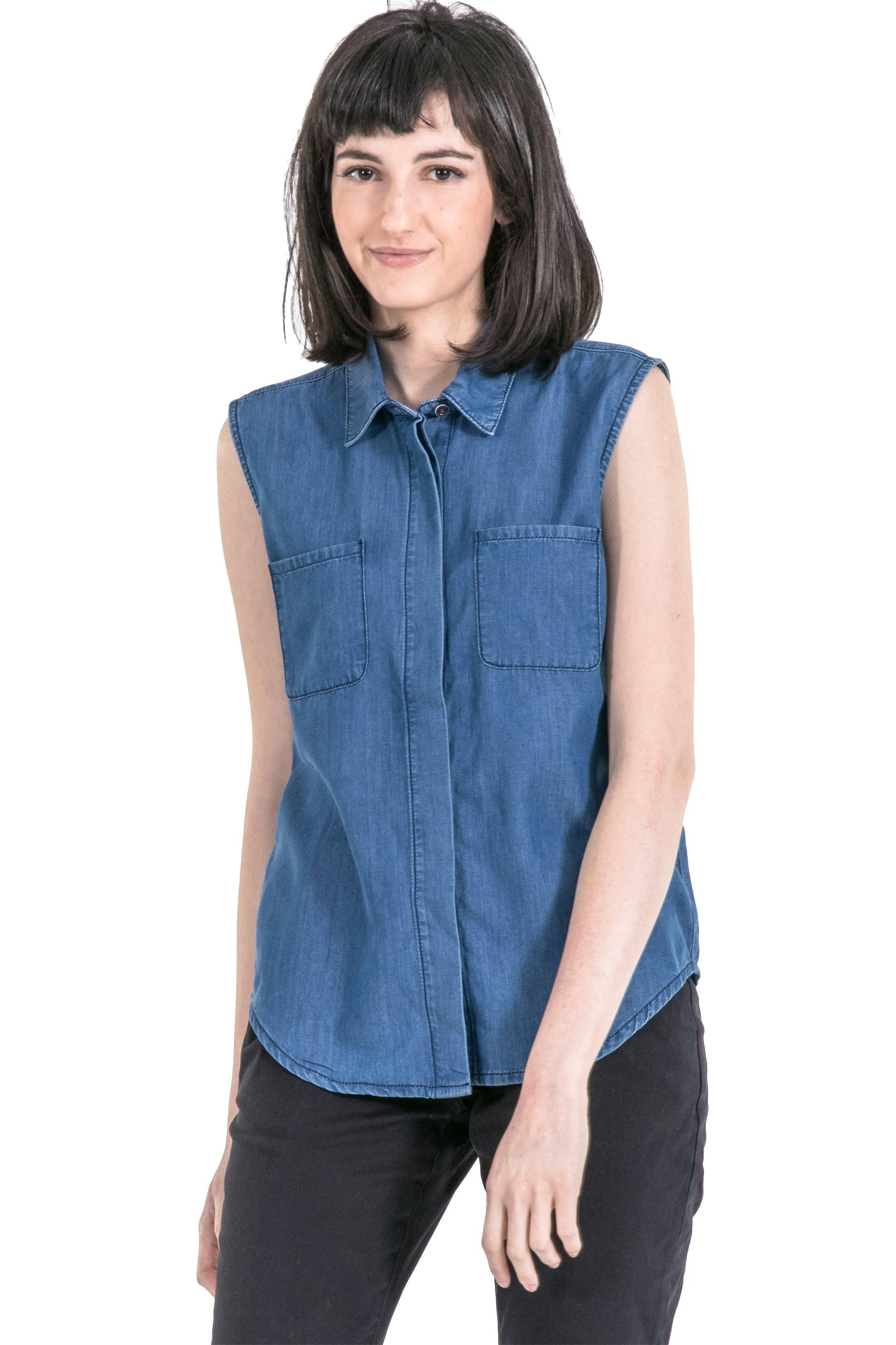 754a952f757d Notos Γυναικείο πουκάμισο Barbour - LSH1027 - Μπλε