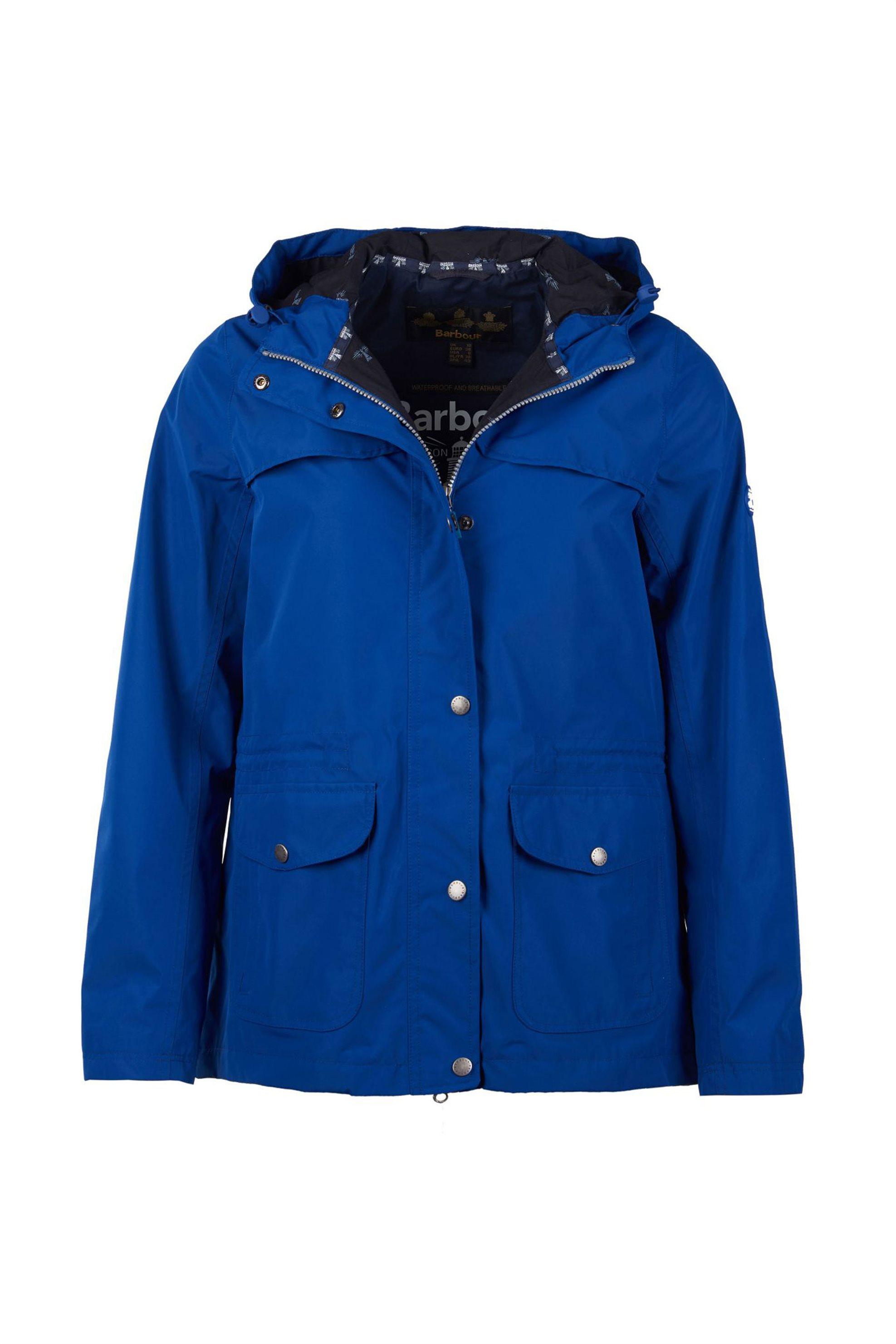 aea5e5e90fb Barbour Lunan γυναικείο μπουφάν αδιάβροχο - LWB0478 - Μπλε Ηλεκτρίκ