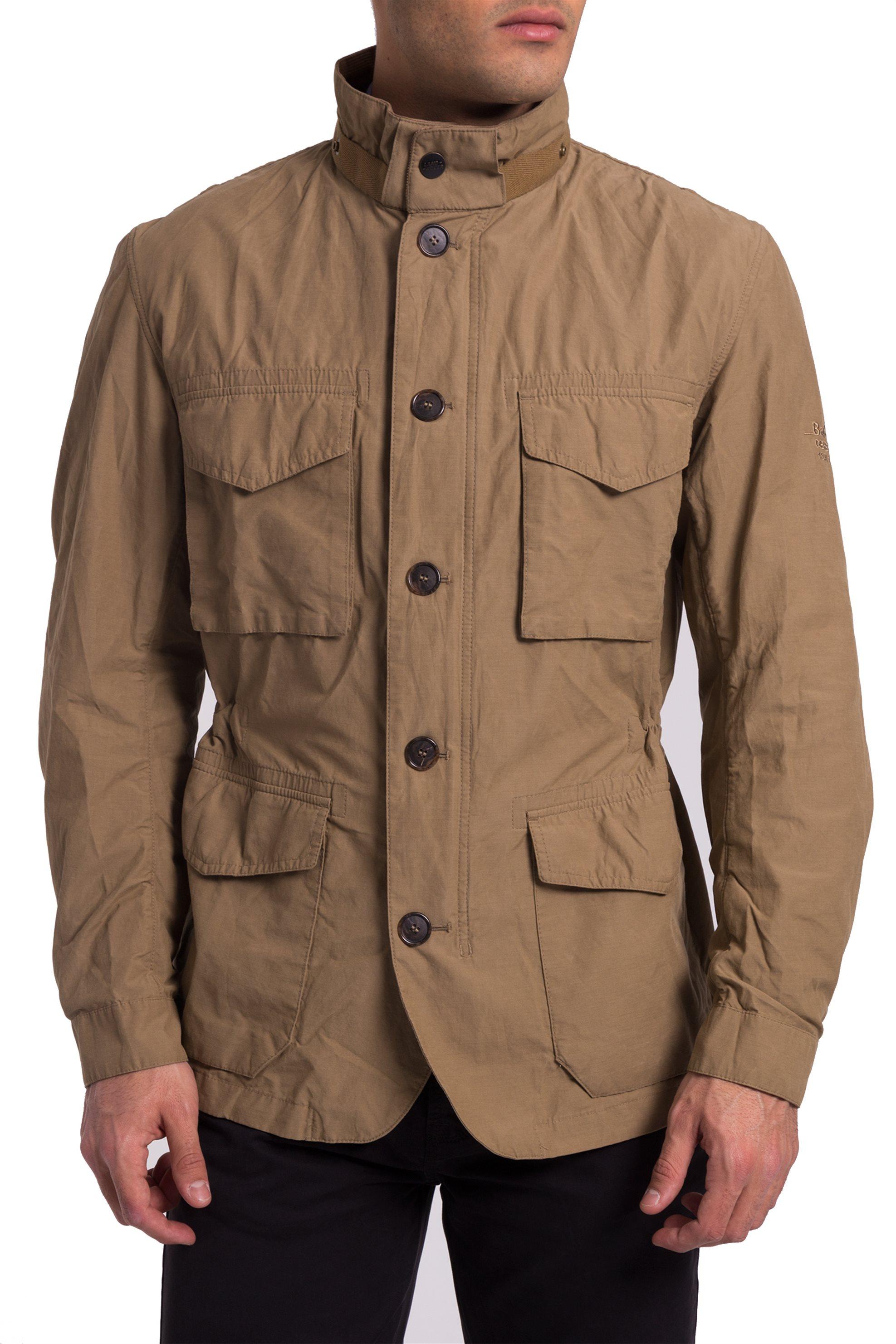 Ανδρικό μπουφάν Barbour - MCA0494 - Καφέ ανδρασ   ρουχα   παλτό   μπουφάν   μπουφάν