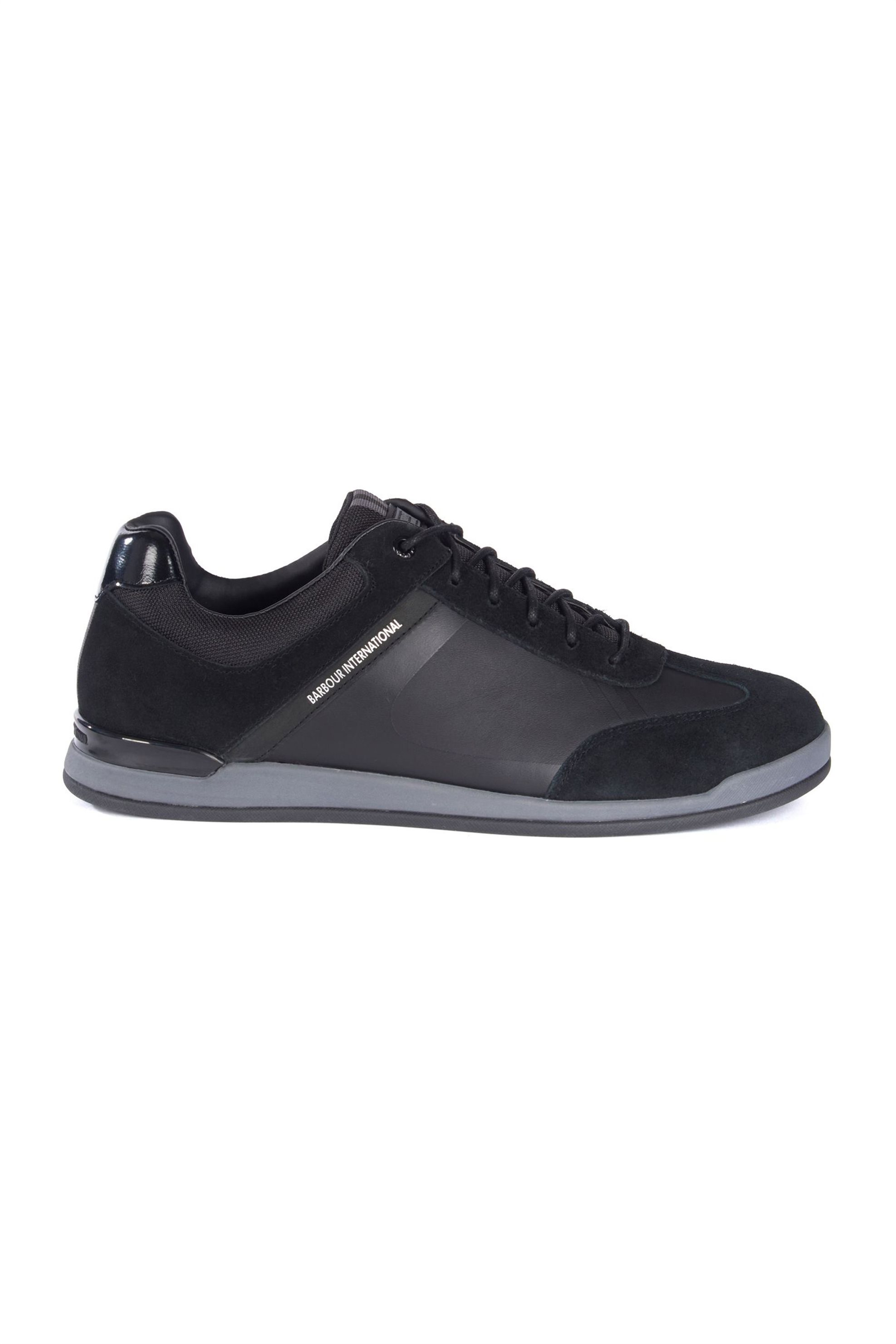 Notos Barbour ανδρικά trainers Cinder – MFO0405 – Μαύρο 8ce54851e85
