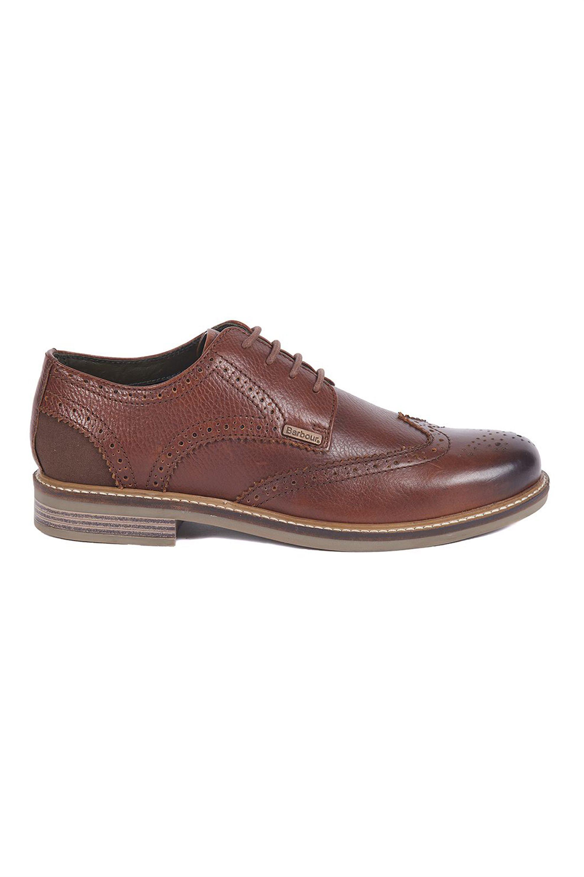 "Barbour ανδρικά παπούτσια Oxford 'Bamburgh"" – MFO0418 – Καφέ"
