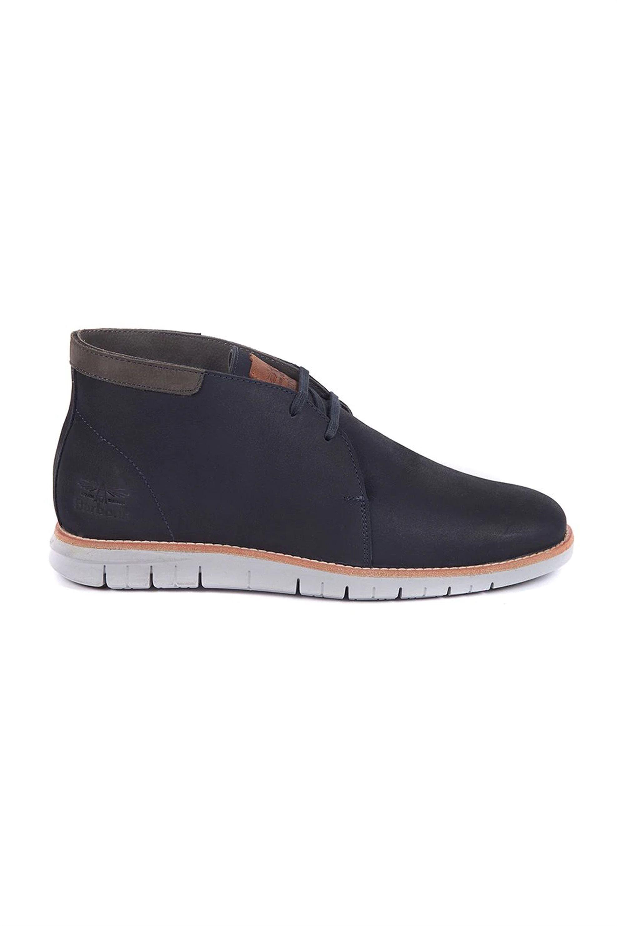 "Barbour ανδρικά μποτάκια με κορδόνια ""Boughton Boots"" – MFO0428 – Μπλε Σκούρο"