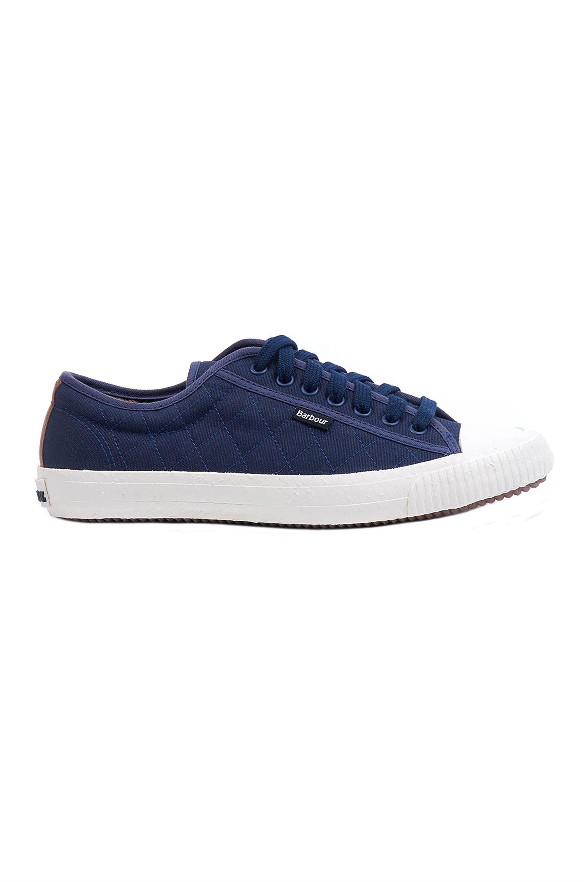 "Barbour ανδρικά sneakers καπιτονέ ""Centurion"" – MFO0480 – Μπλε Σκούρο"