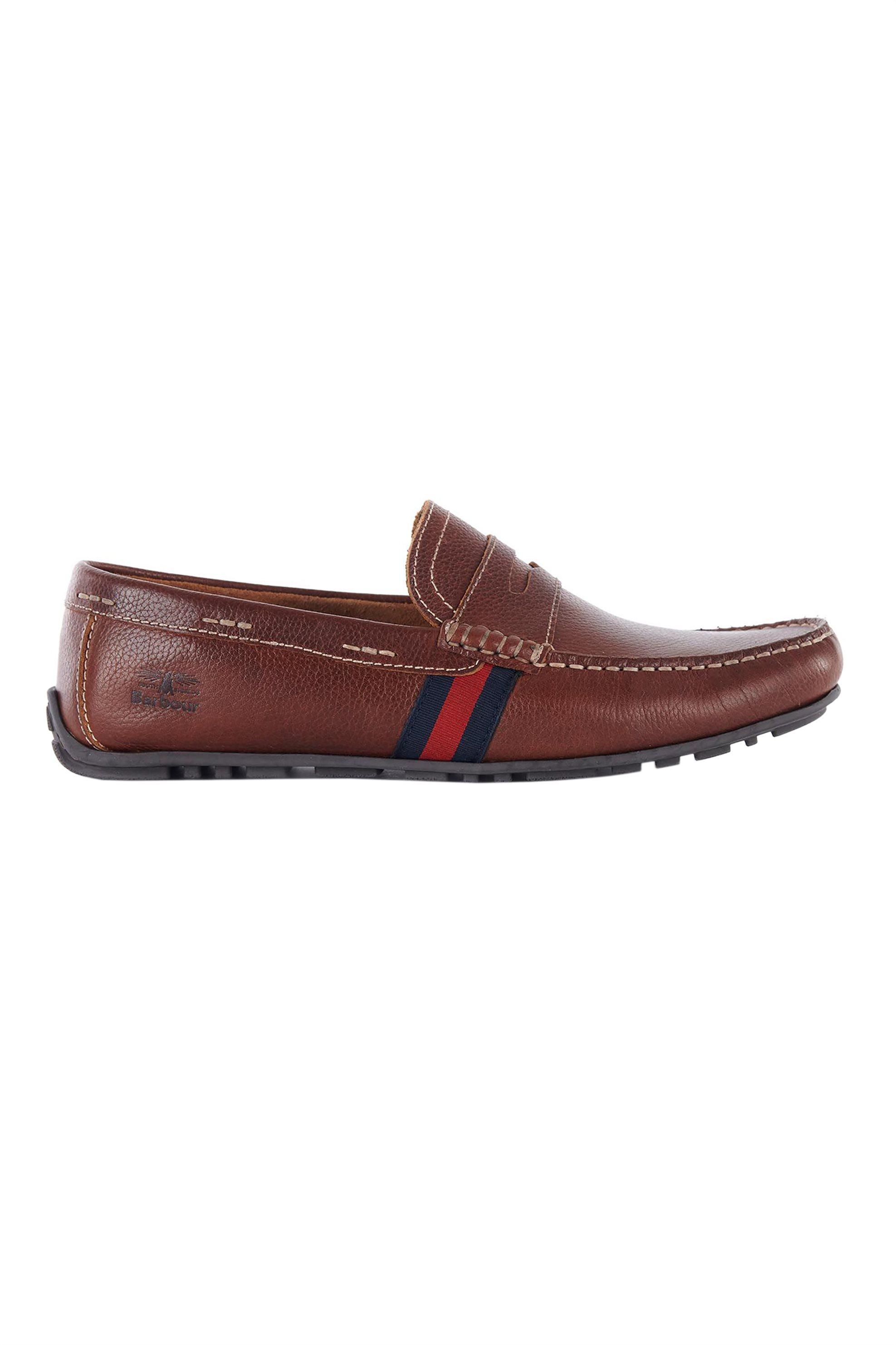 Barbour ανδρικά loafers με ανάγλυφο λογότυπο