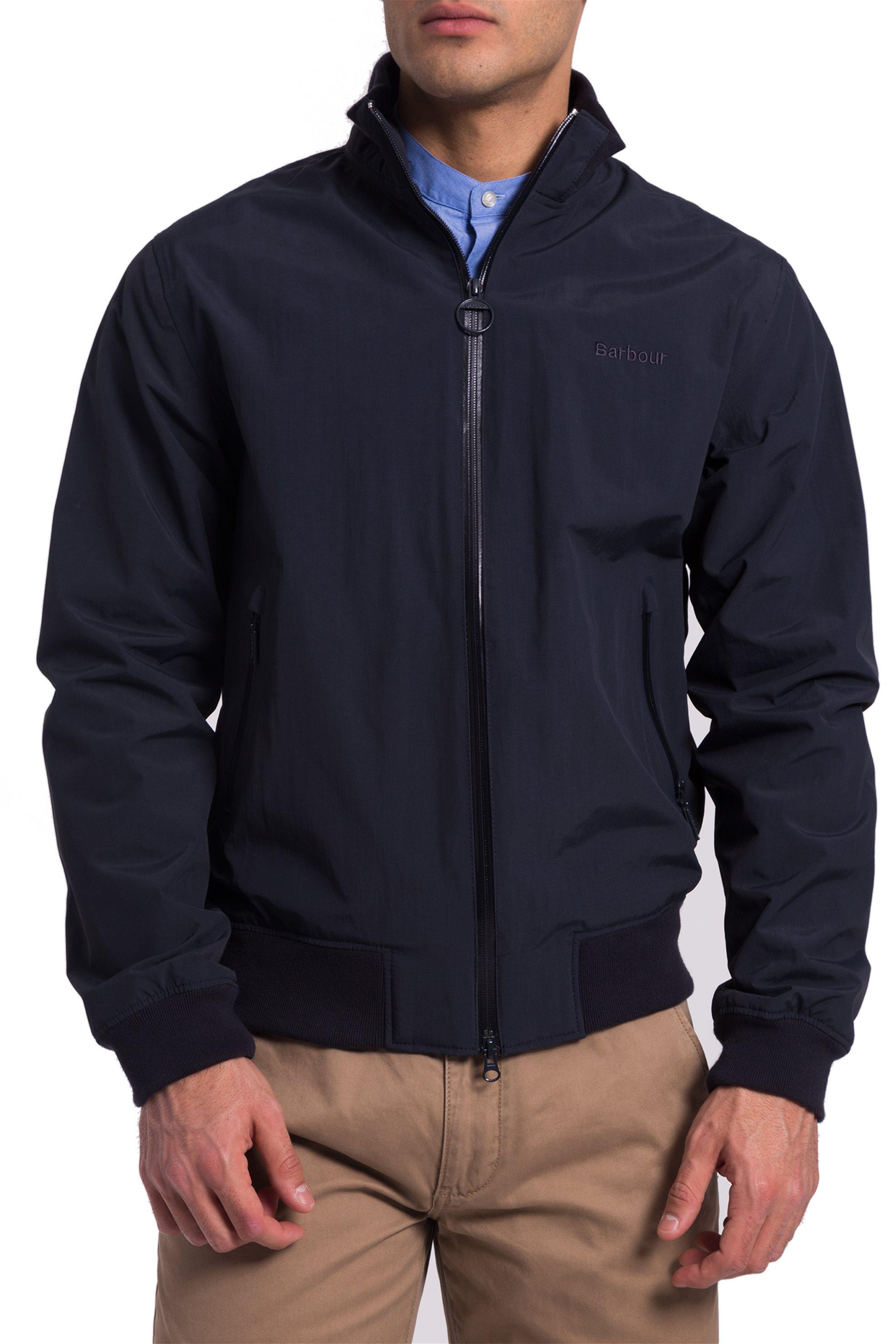 Ανδρικό αδιάβροχο bomber jacket Nimbus Barbour - MWB0551 - Μπλε Σκούρο ανδρασ   ρουχα   παλτό   μπουφάν   bomber
