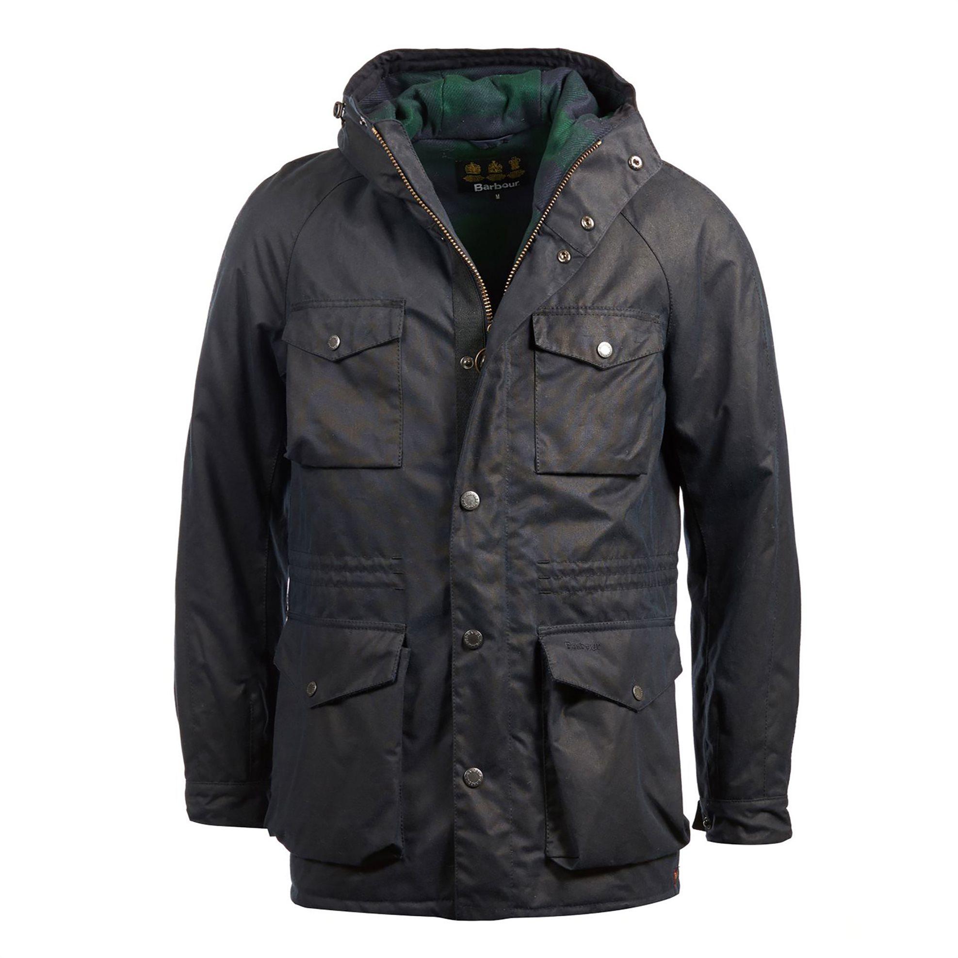 BarbourανδρικόμπουφάνColl - MWX1399 - Μπλε Σκούρο ανδρασ   ρουχα   παλτό   μπουφάν   μπουφάν