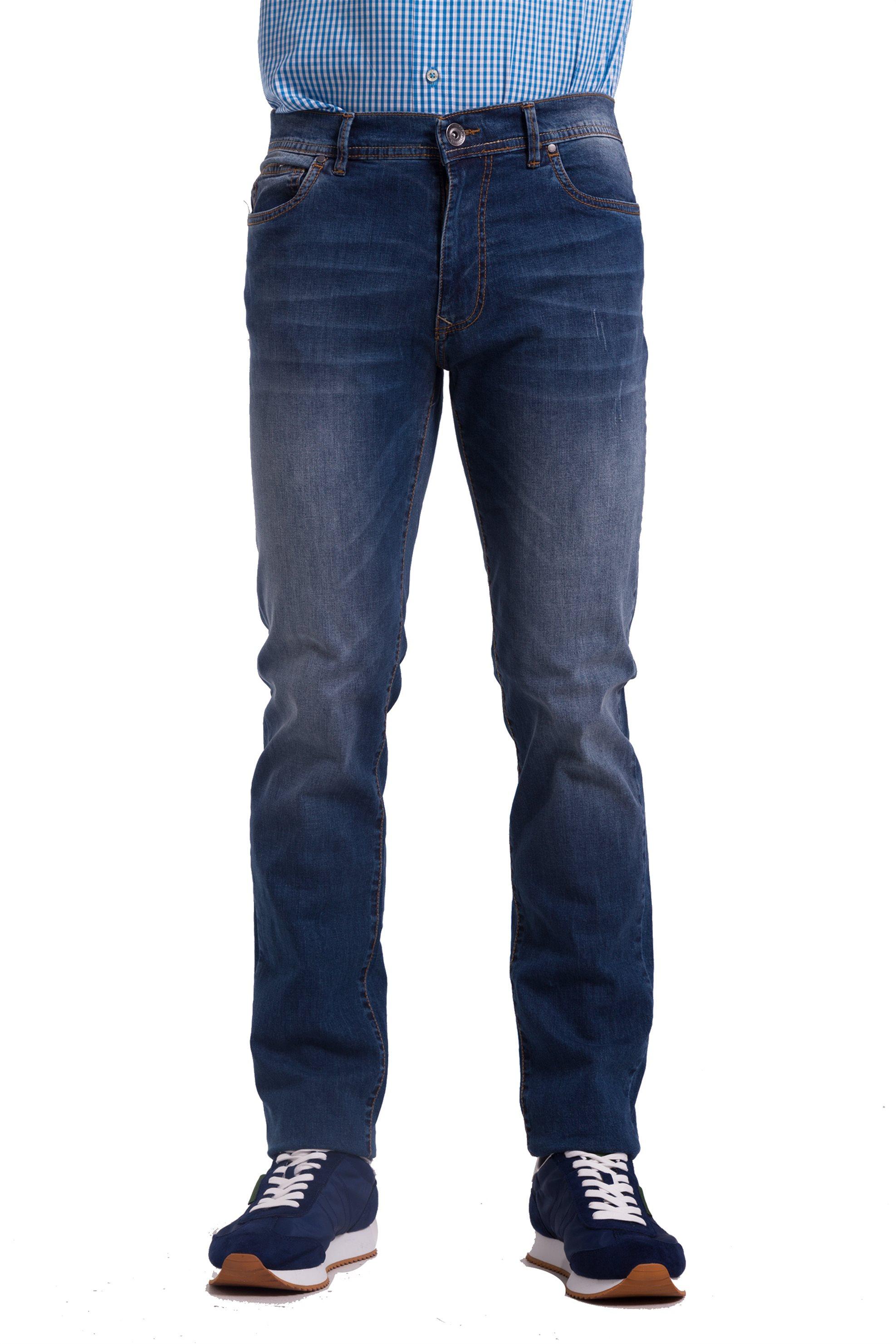 Ανδρικό παντελόνι τζην The Bostonians - CJ1138373 - Μπλε ανδρασ   ρουχα   jeans   straight