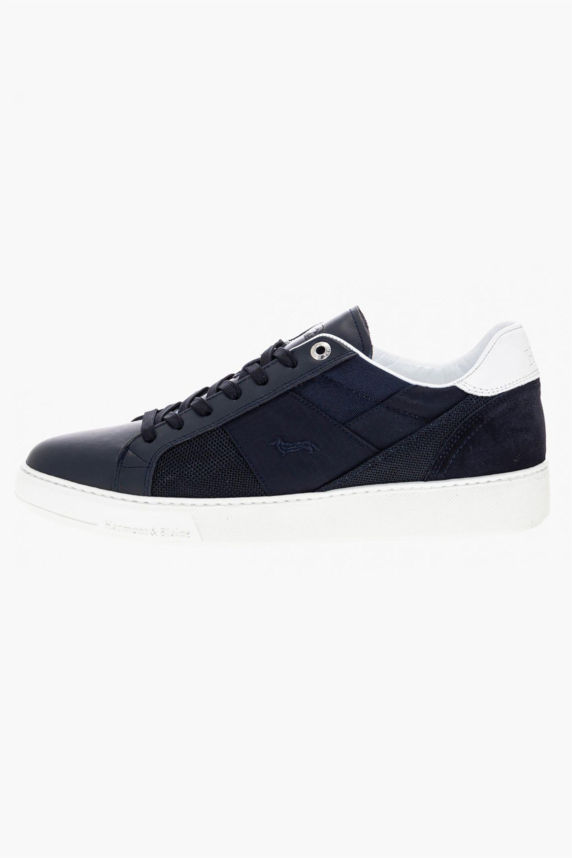 Harmont & Blaine ανδρικά sneakers με suede λεπτομέρεια – EFM201032-6160 – Μπλε Σκούρο