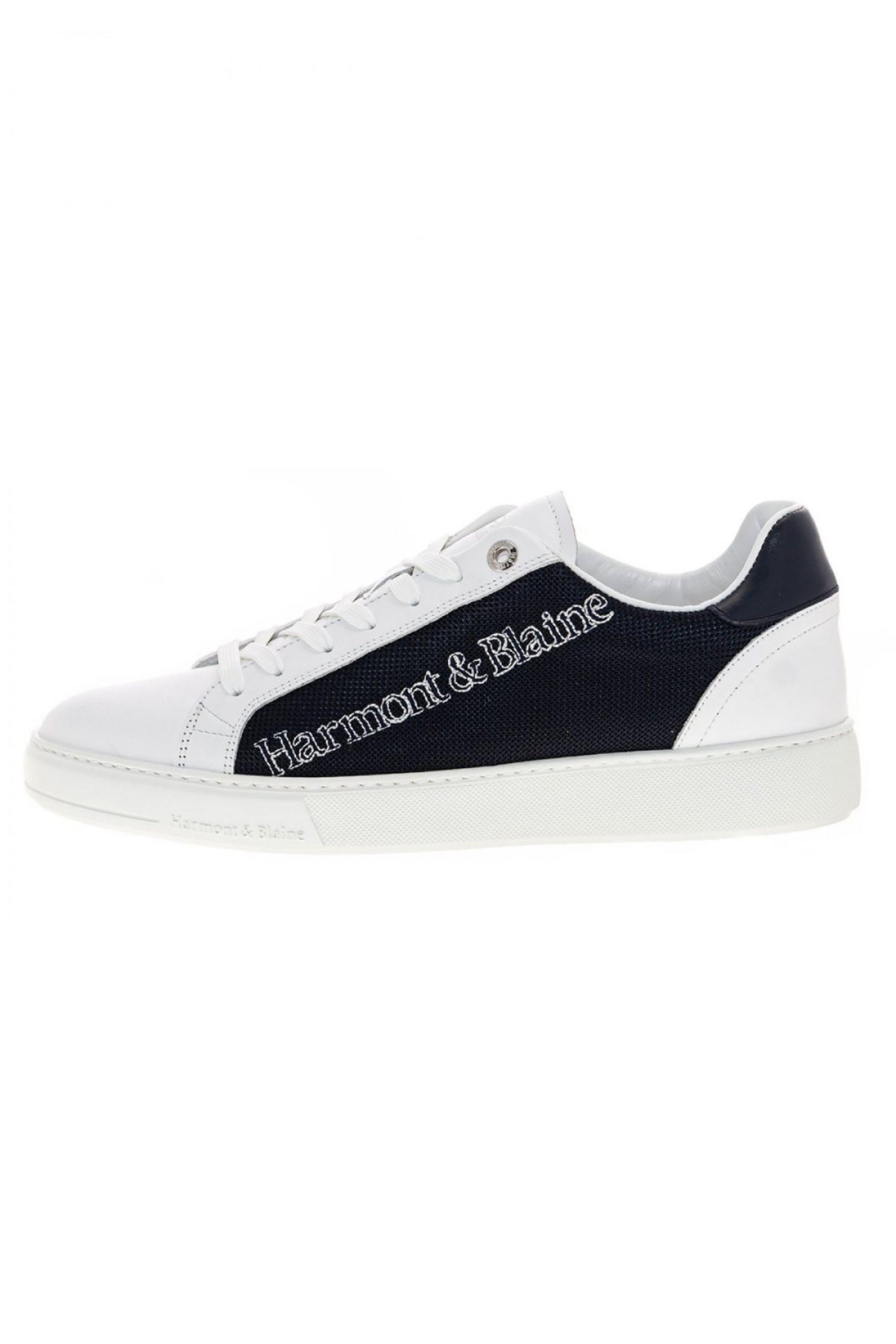 Harmont & Blaine ανδρικά sneakers colourblocked – EFM201034-6210 – Λευκό