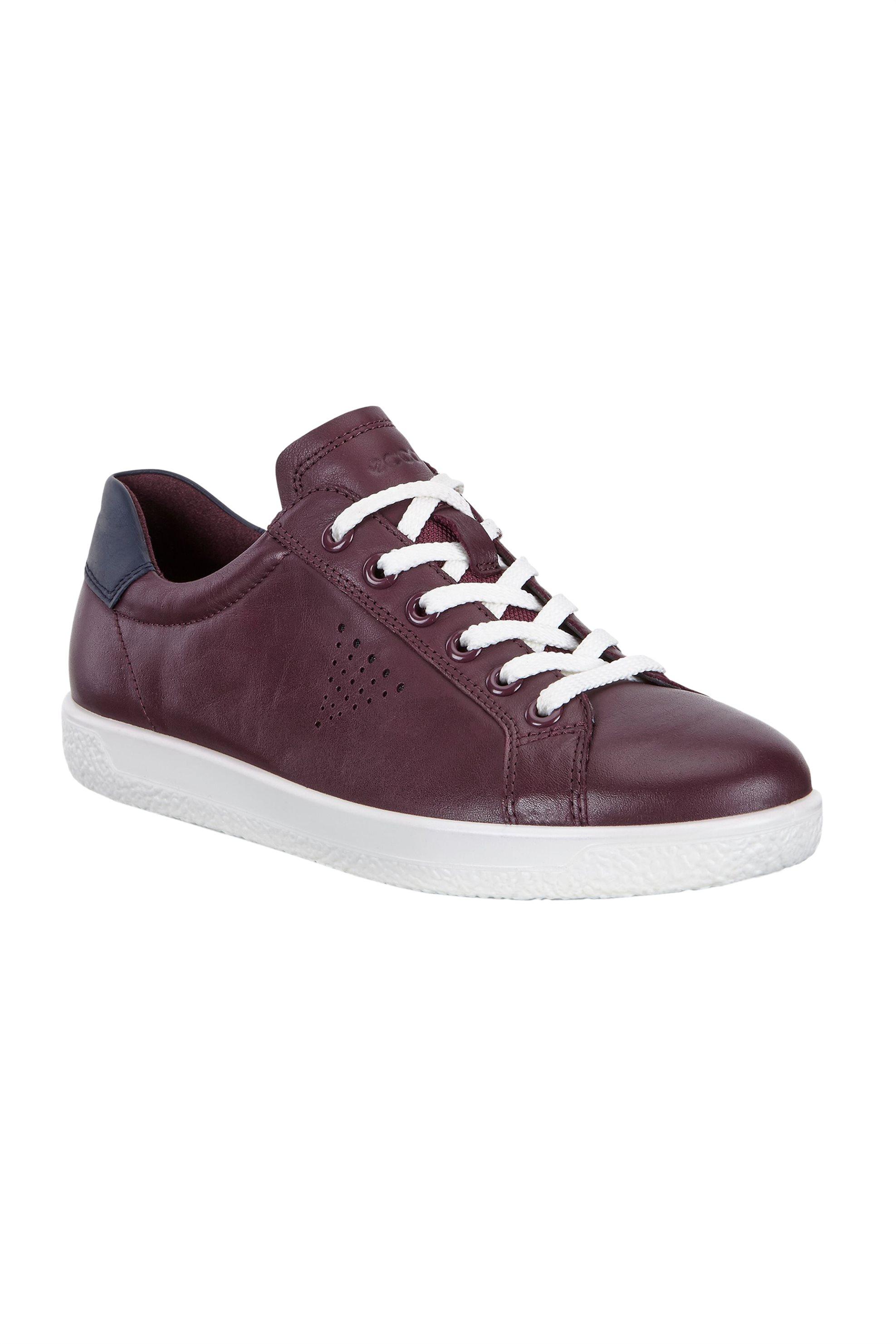Notos ECCO γυναικεία παπούτσια με κορδόνια Soft 1 – 400583 – Μπορντό b2911113899