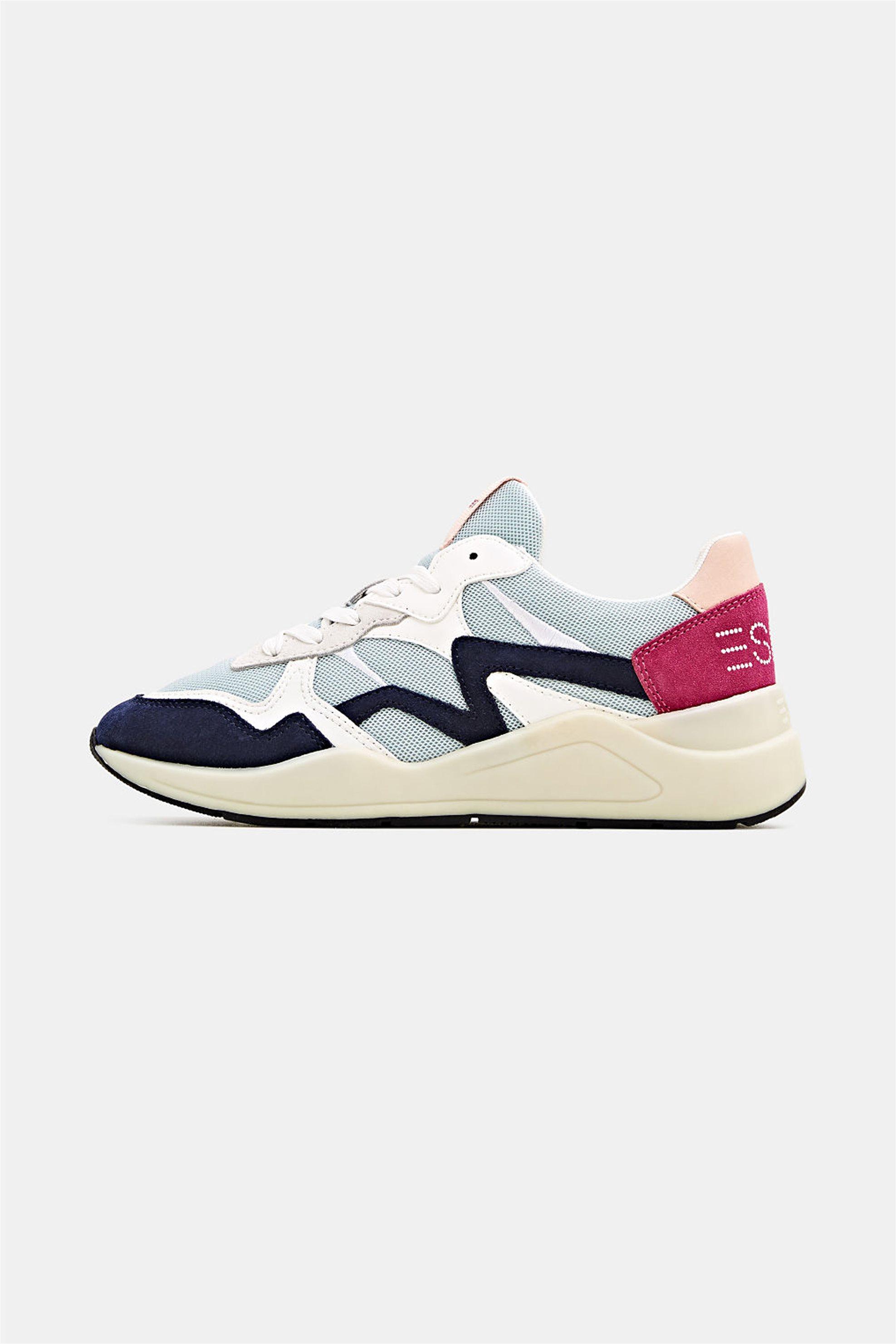 Esprit γυναικεία sneakers με κορδόνια – 020EK1W333 – Γκρι