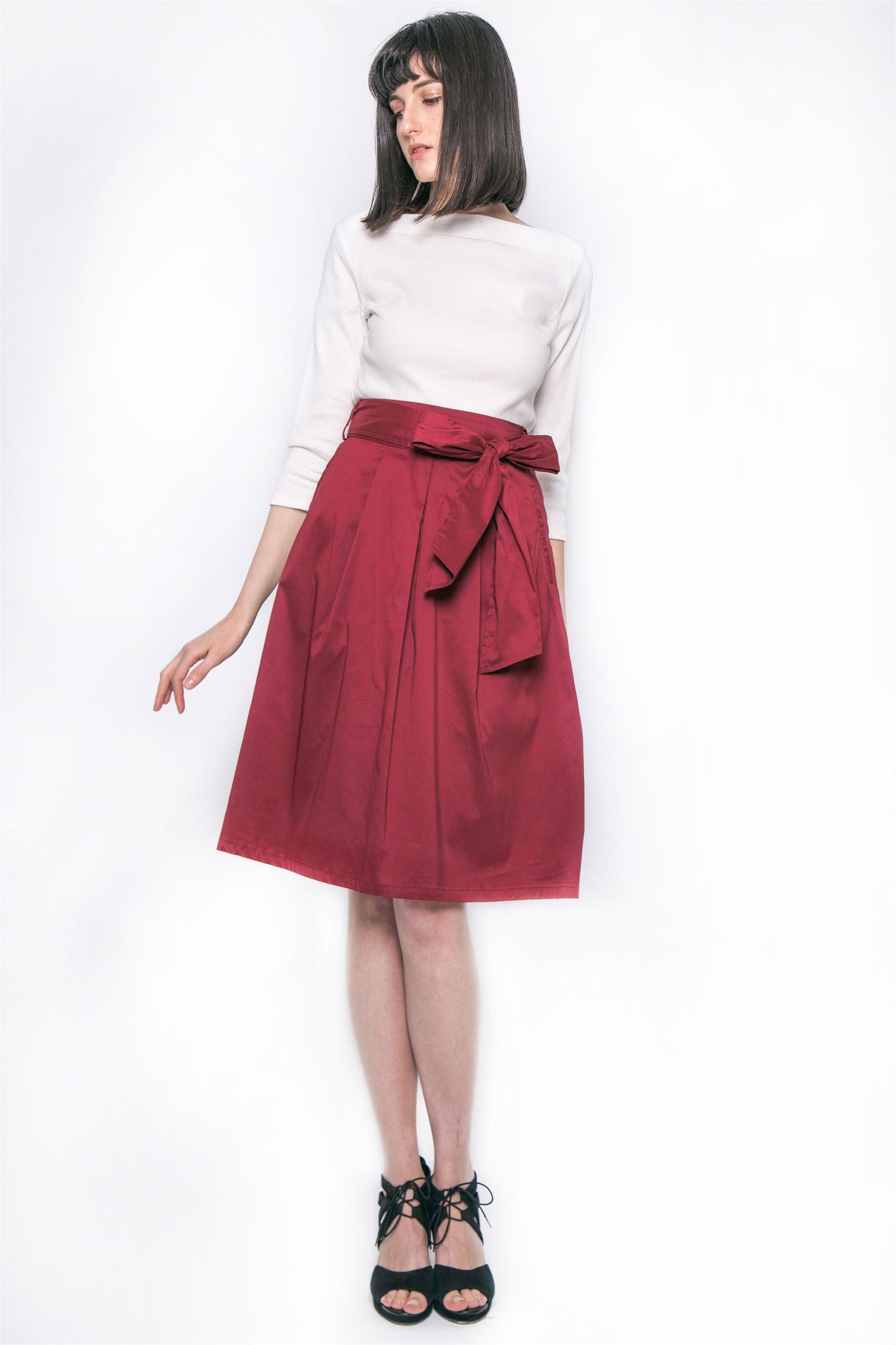 Γυναικεία   Ρούχα   Φούστες   Καθημερινές   Κρουαζέ maxi φούστα με ... 9c0ad6ba793