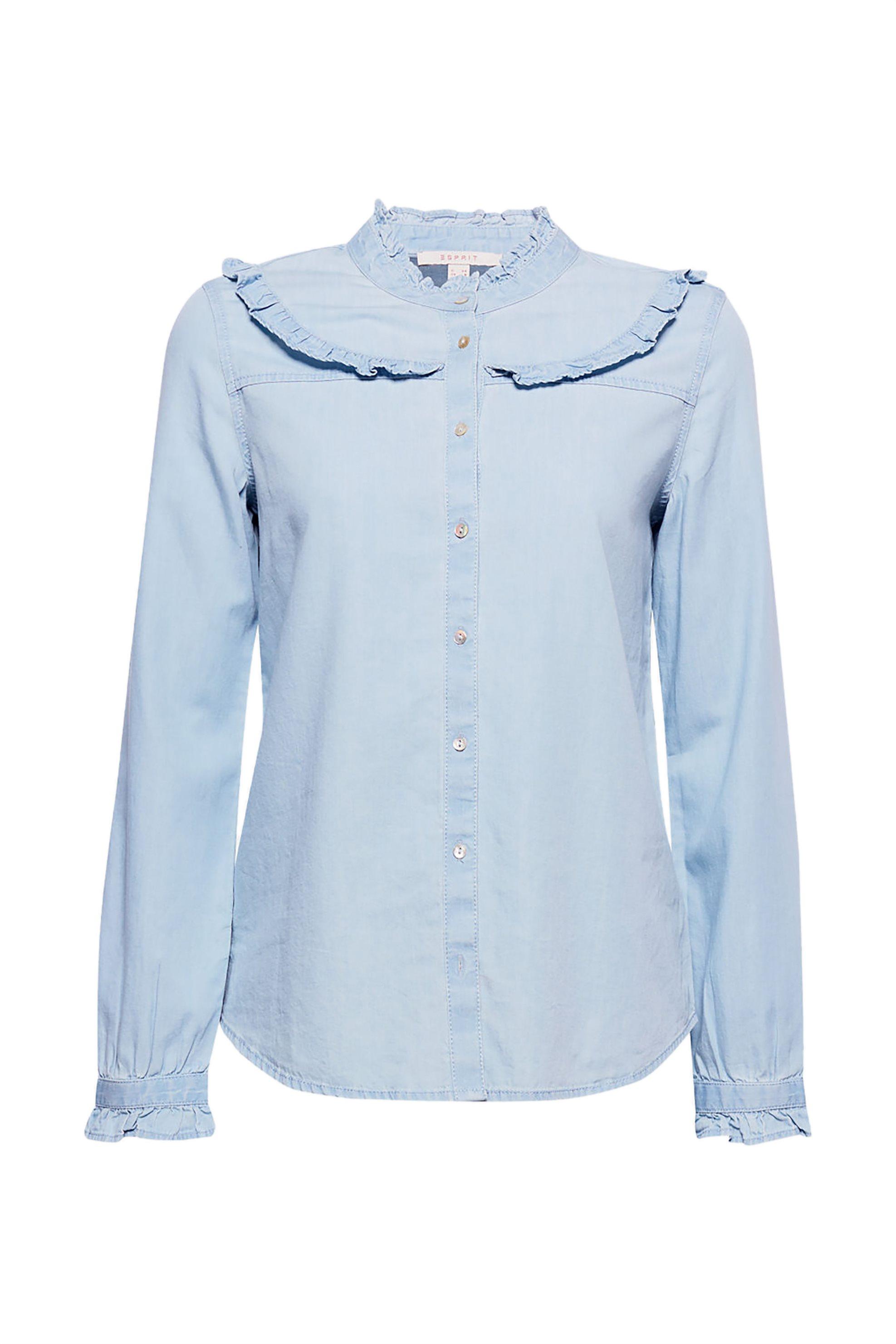 7620845950b7 Γυναικεία   Ρούχα   Πουκάμισα   Denim πουκάμισο με βαμβάκι και ...